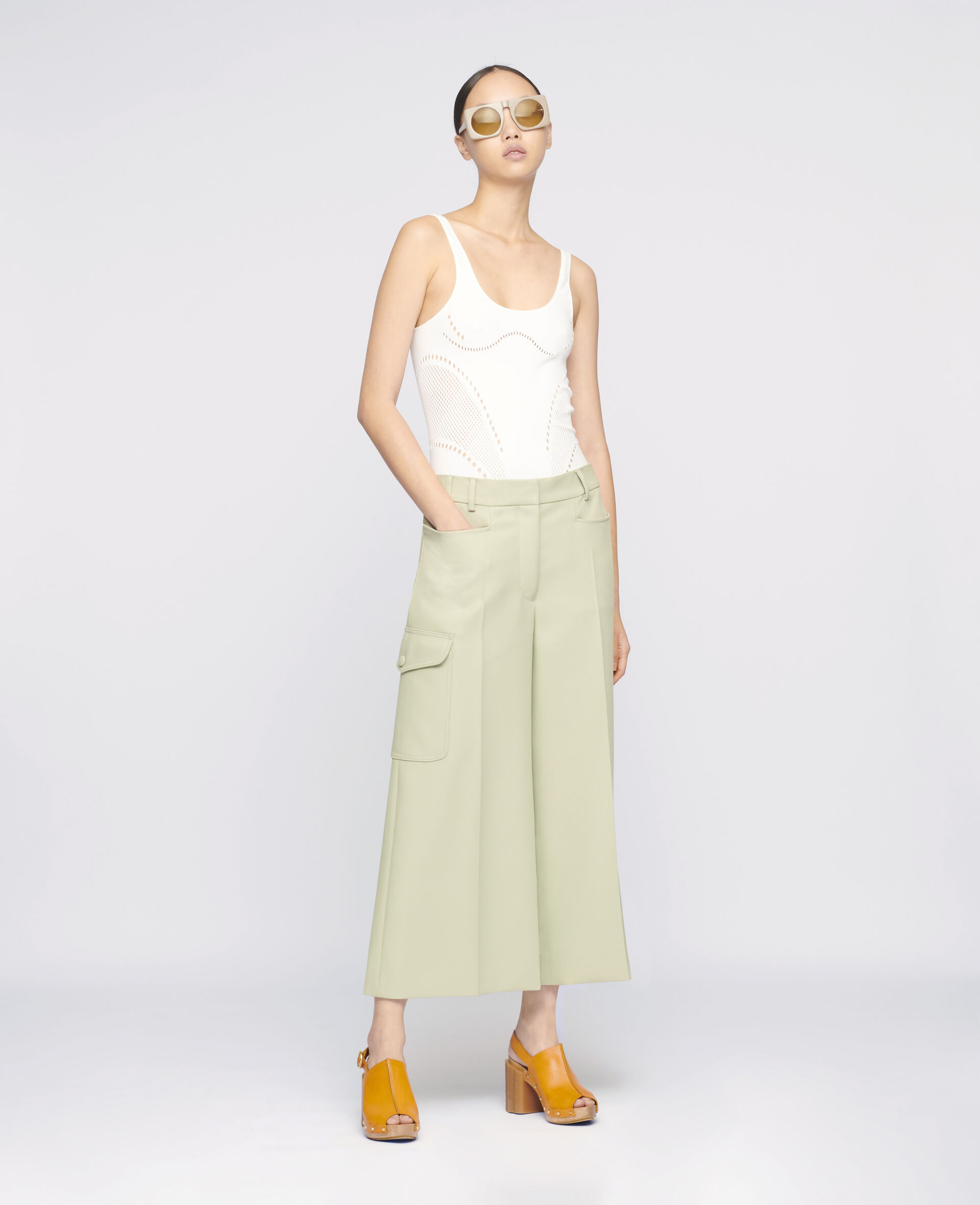 Audrey Trousers-Green-large image number 1