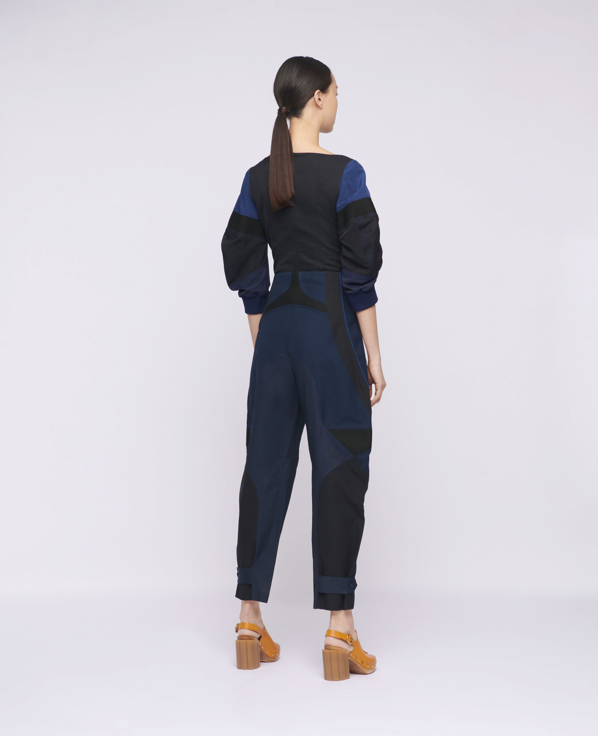 Brooke Trousers-Blue-large image number 2