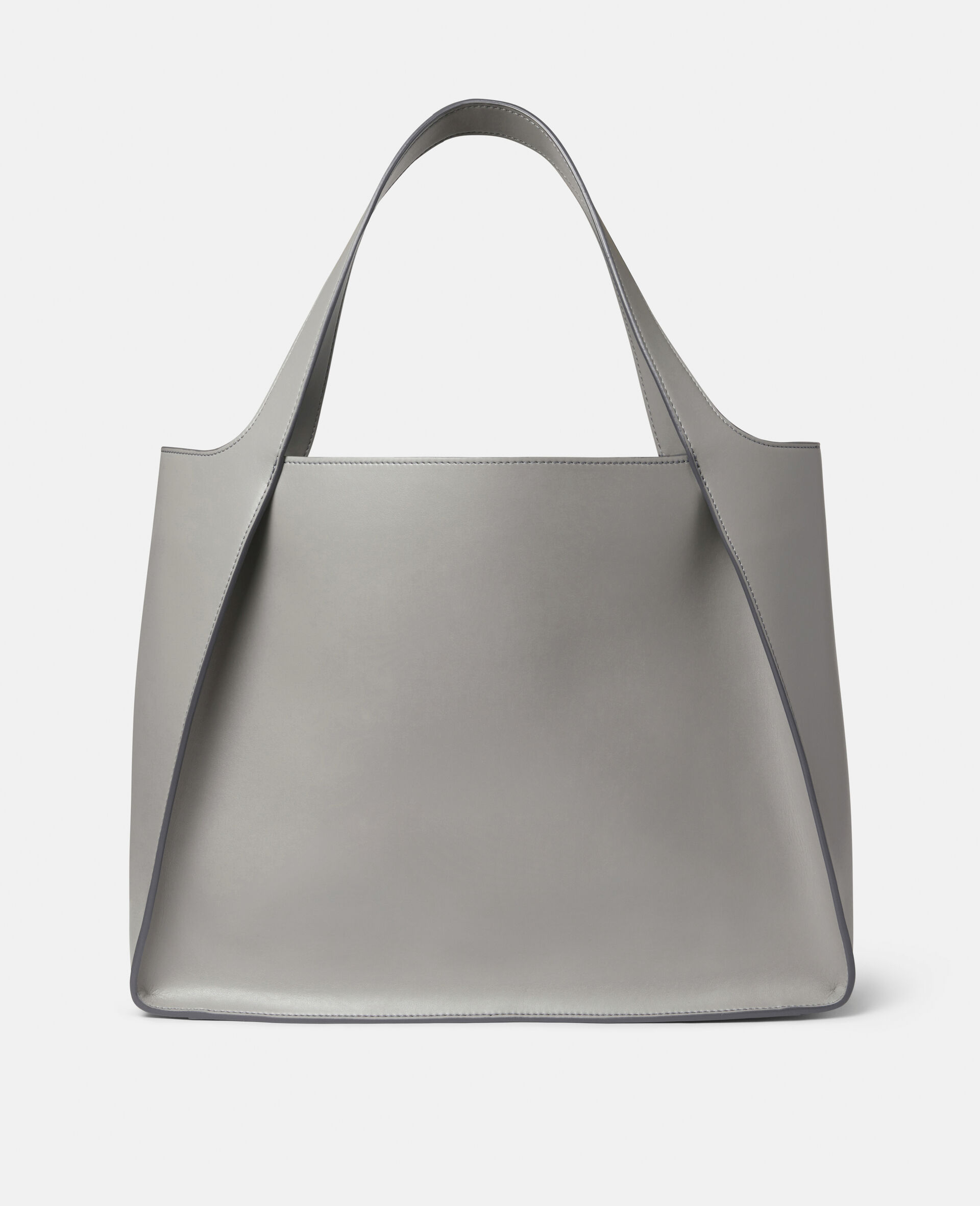 Tote con Logo Stella-Marrone-large image number 2