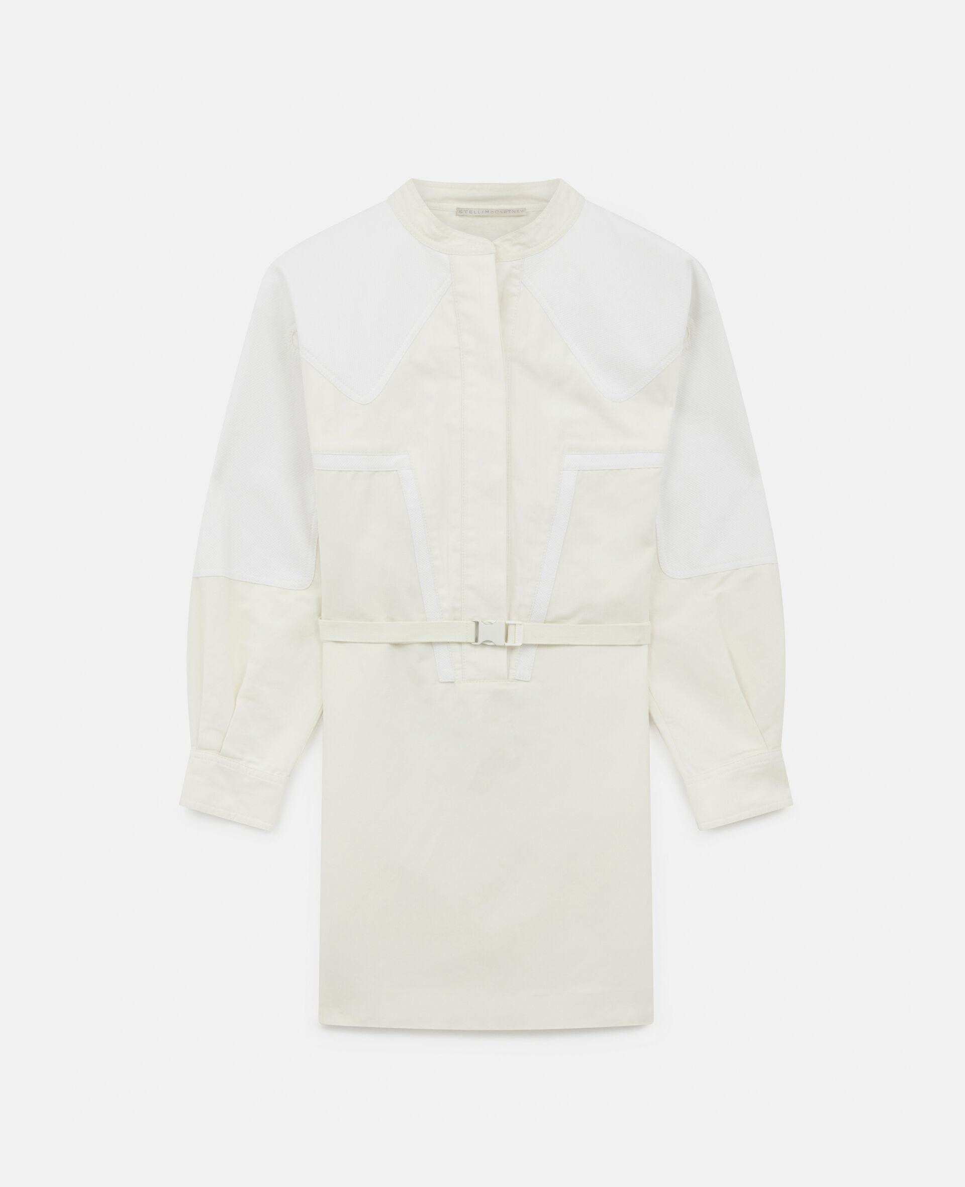 Robe courte Liana-Blanc-large image number 0
