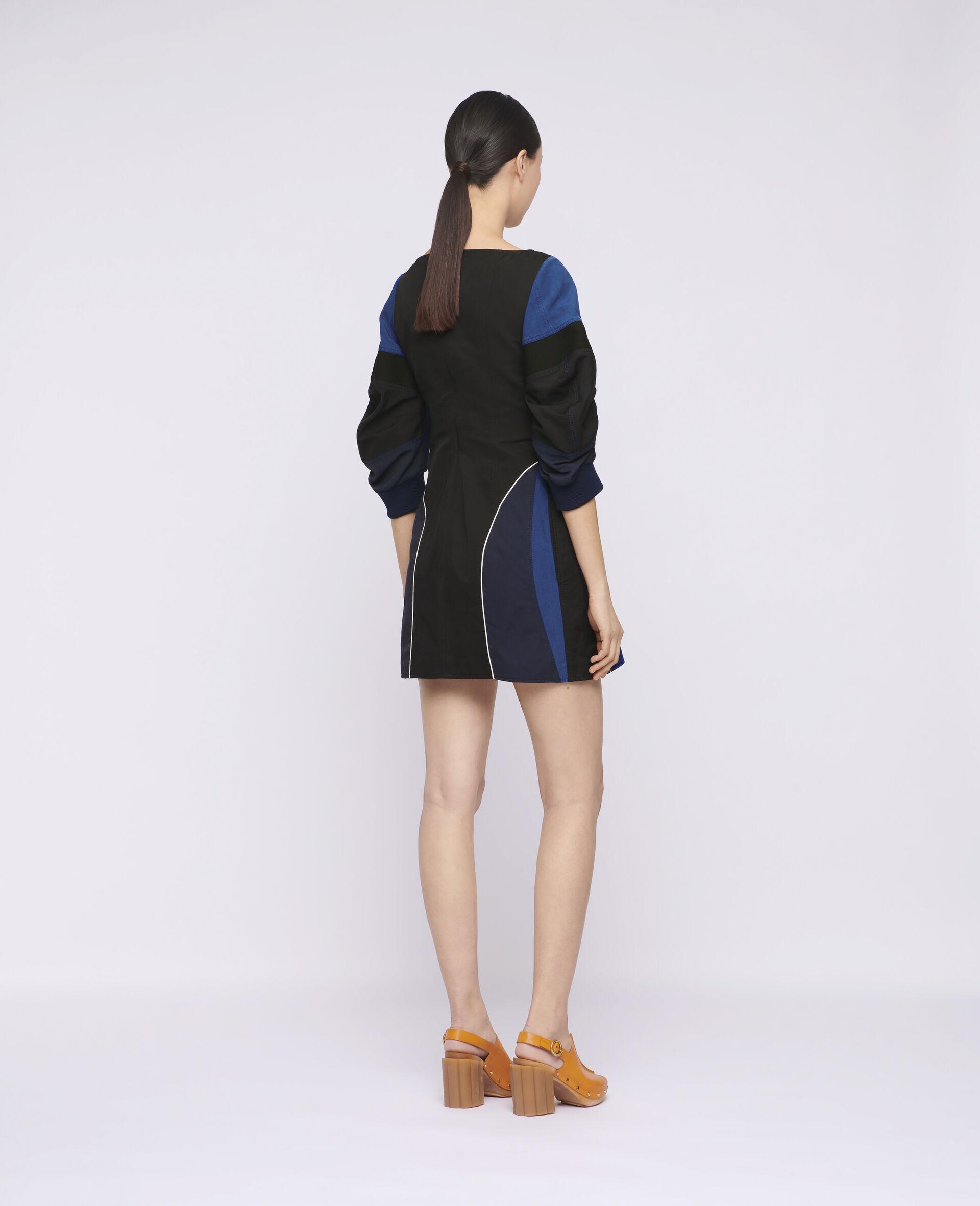 Giselle Mini Dress-Black-large image number 2
