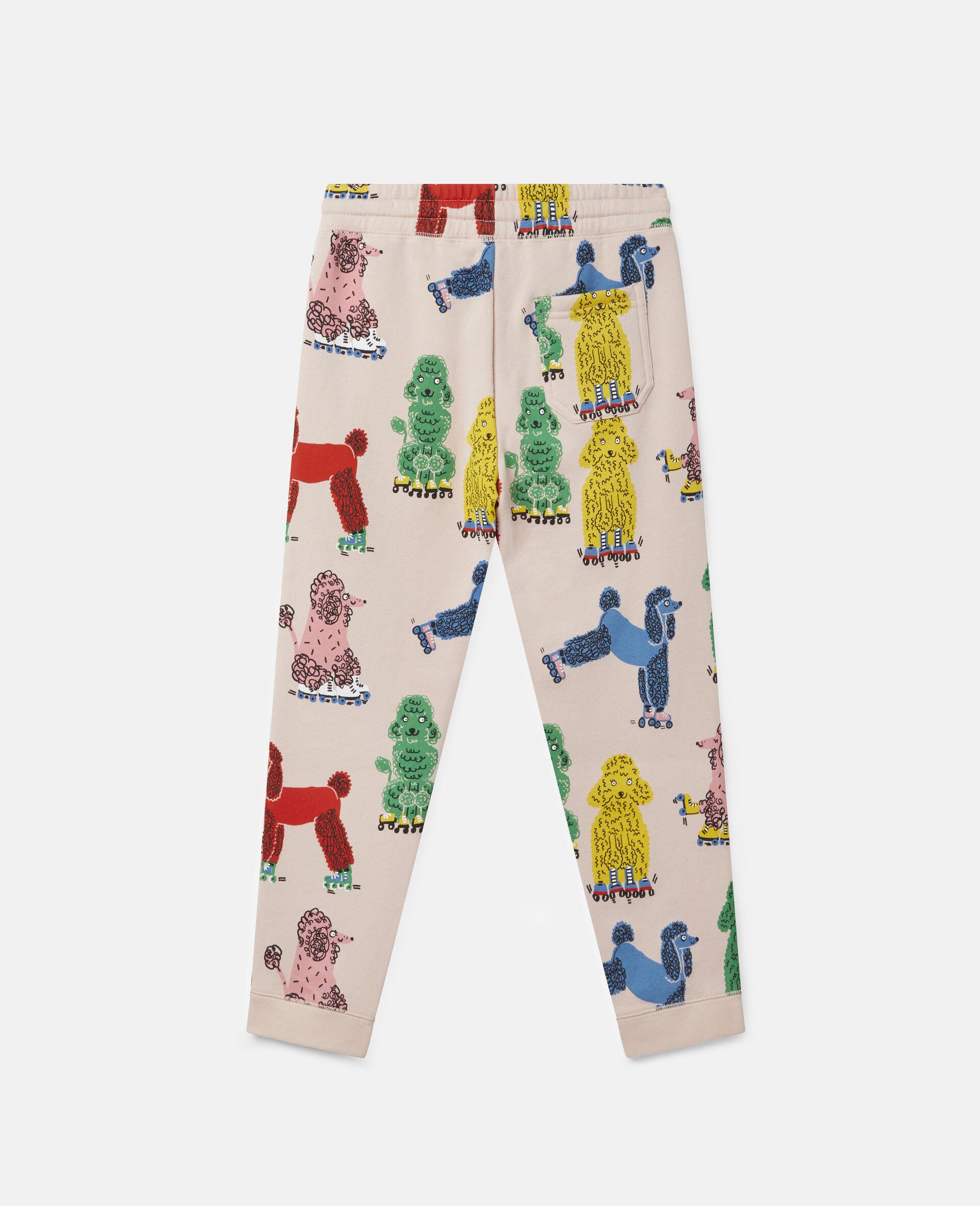 Doodle Poodles Fleece Joggers -Pink-large image number 3