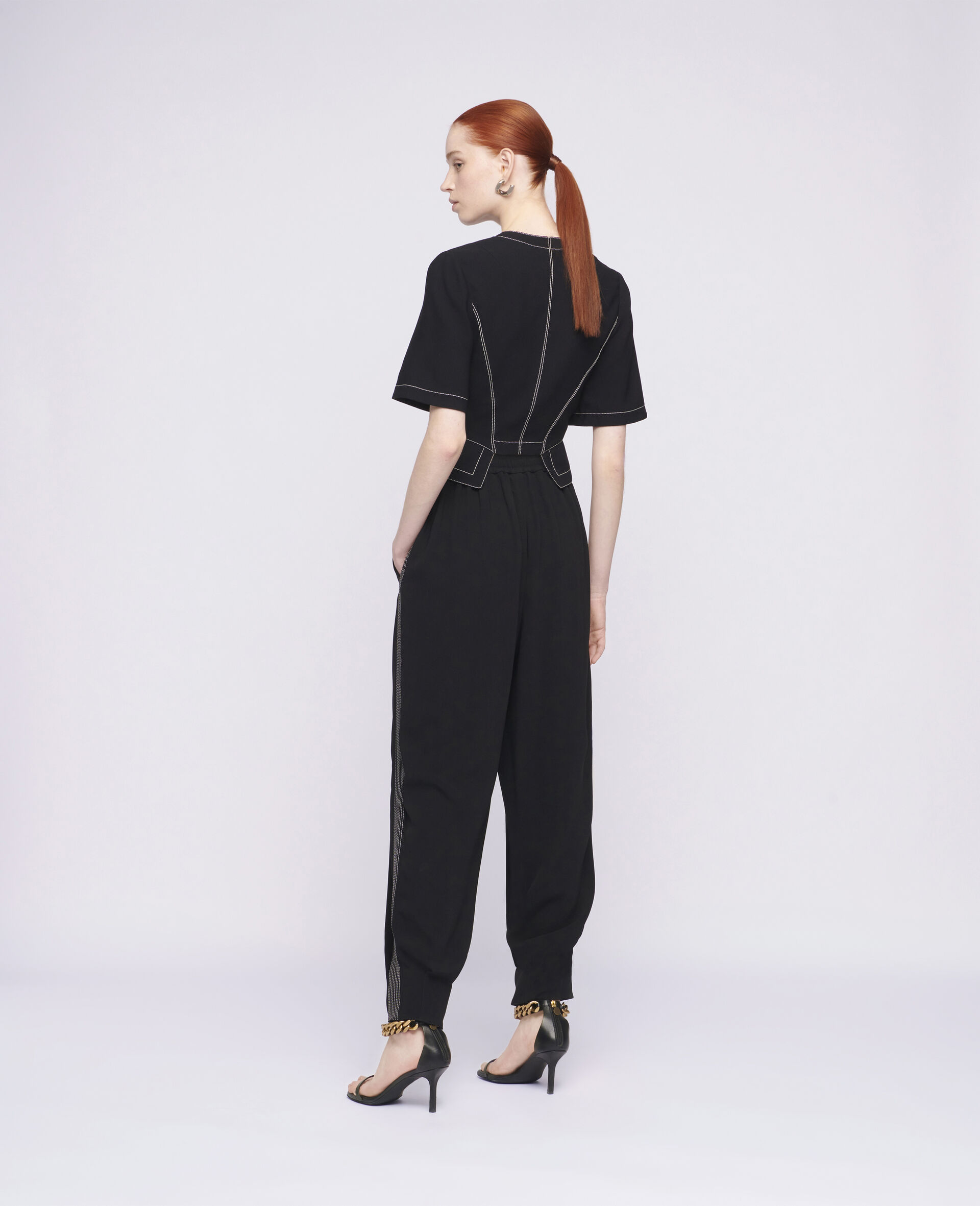 Christelle Trousers-Black-large image number 2