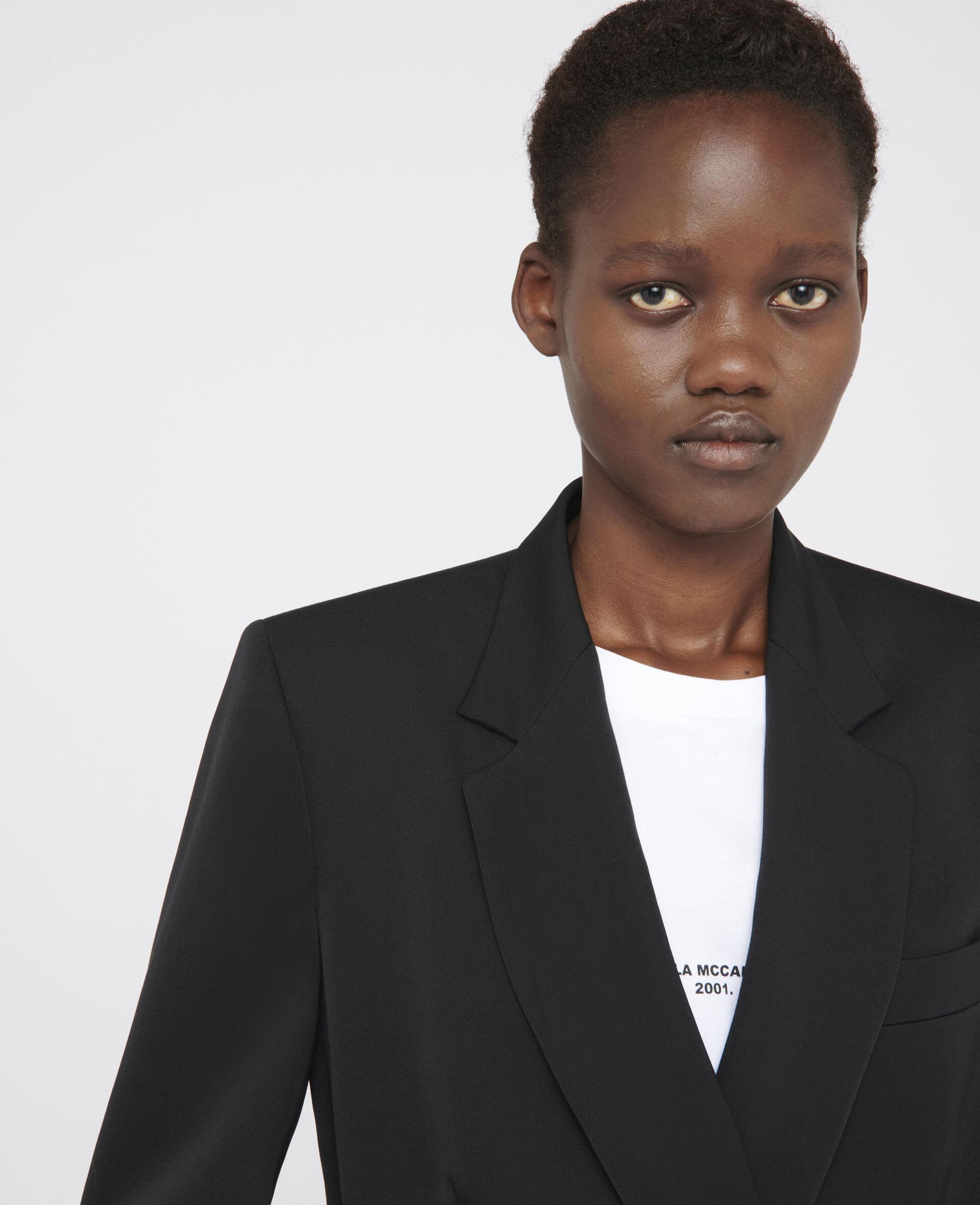 Delilah Tailored Jacket-Black-large image number 3