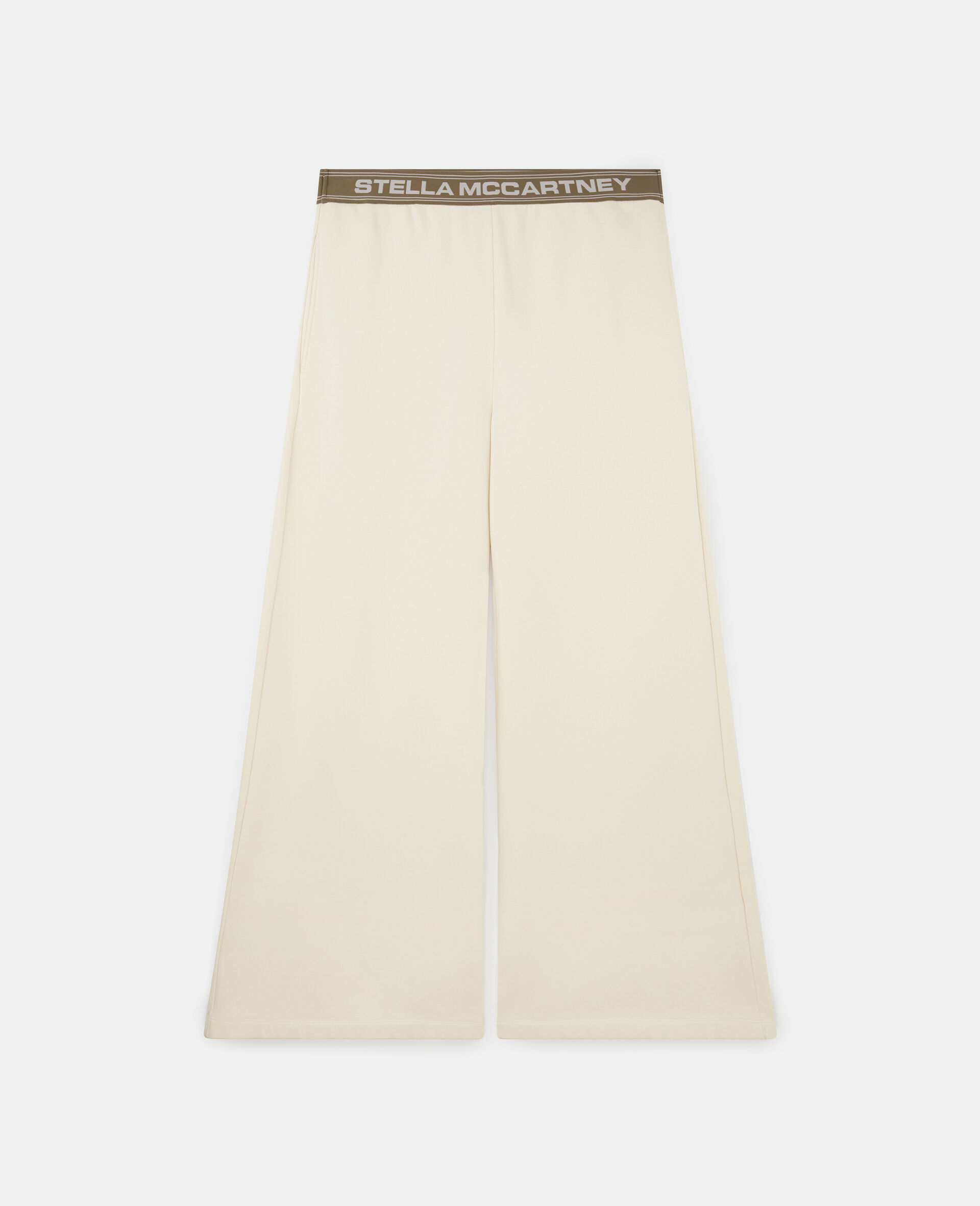 Stella Logo Sweatpants -White-large image number 0