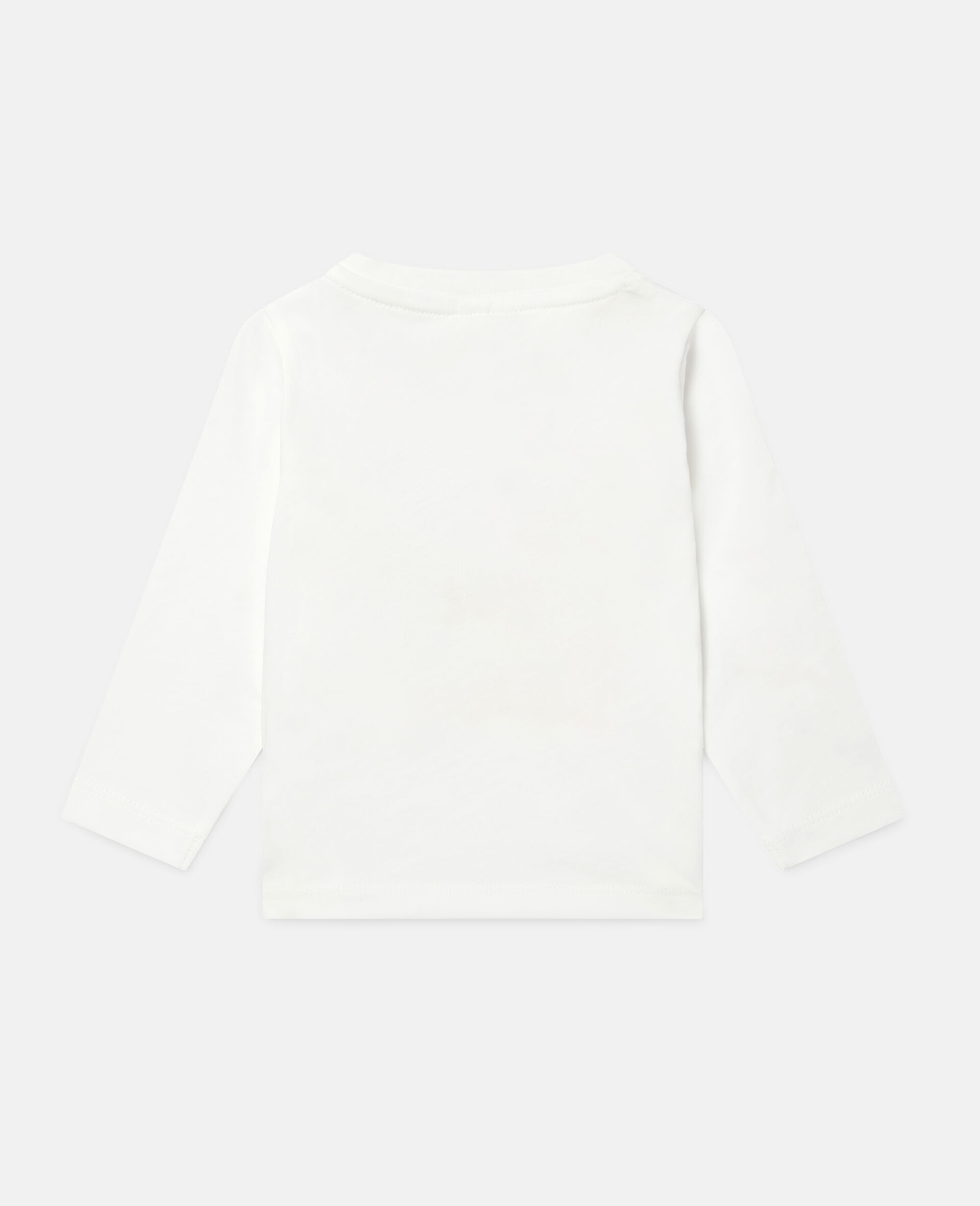 Love Poodles Cotton Top-White-large image number 3