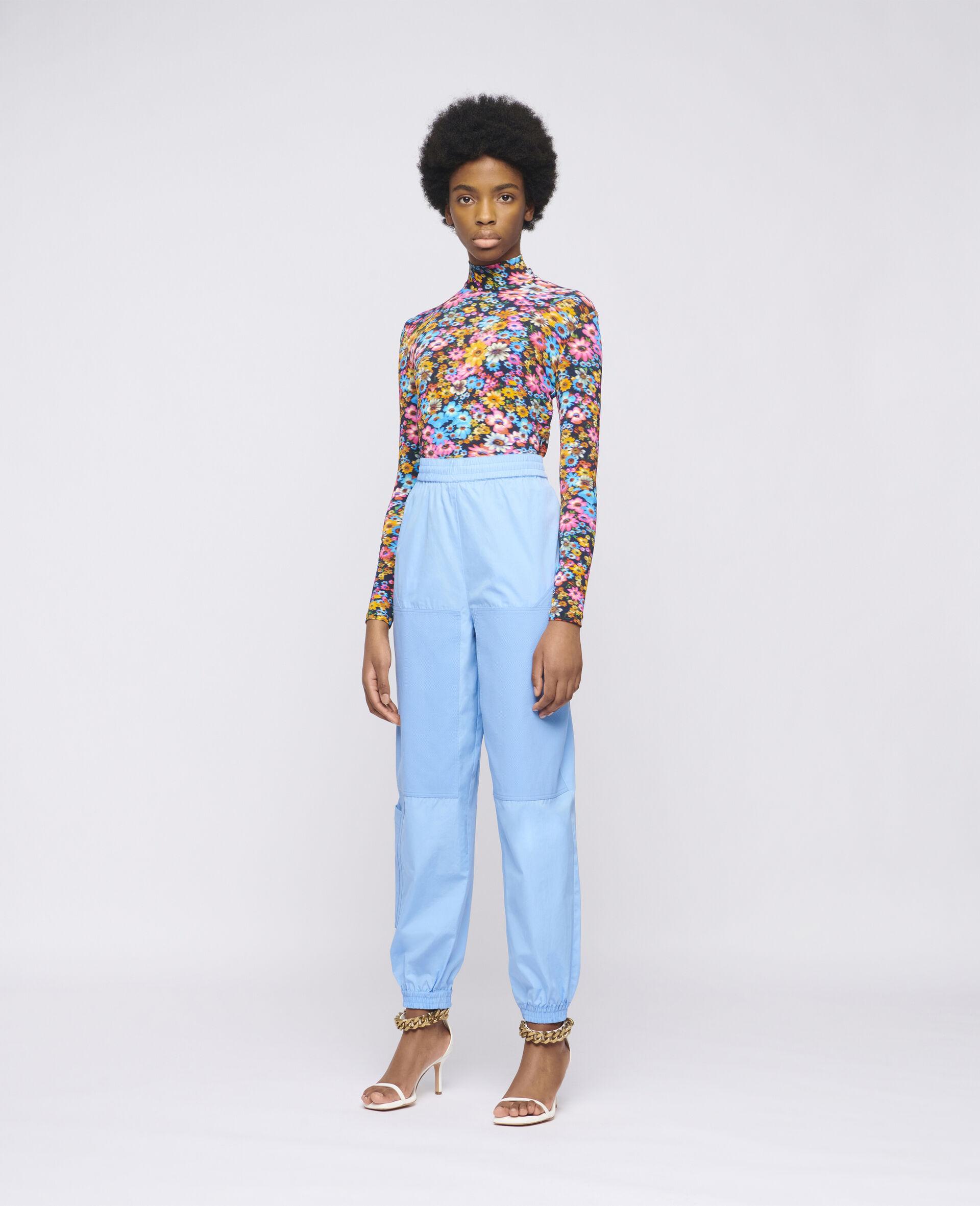 Pantaloni Kara-Blu-large image number 1