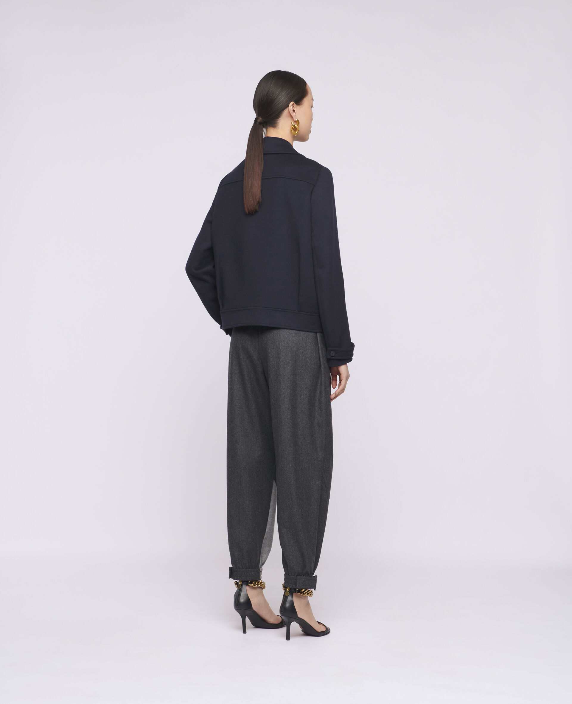 Rebecca Wool Coat-Blue-large image number 2