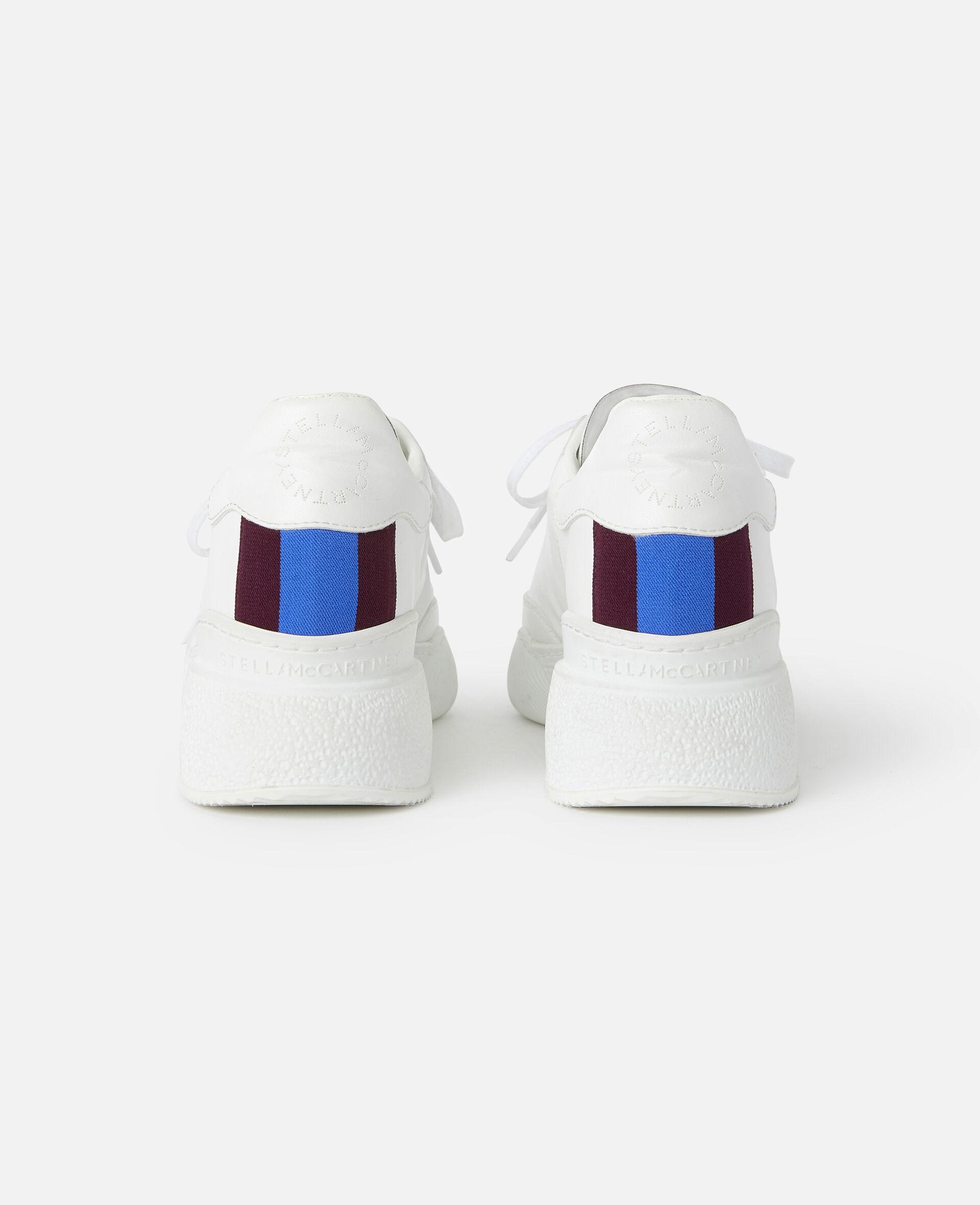 Sneakers Loop mit Schnürung-Weiß-large image number 2