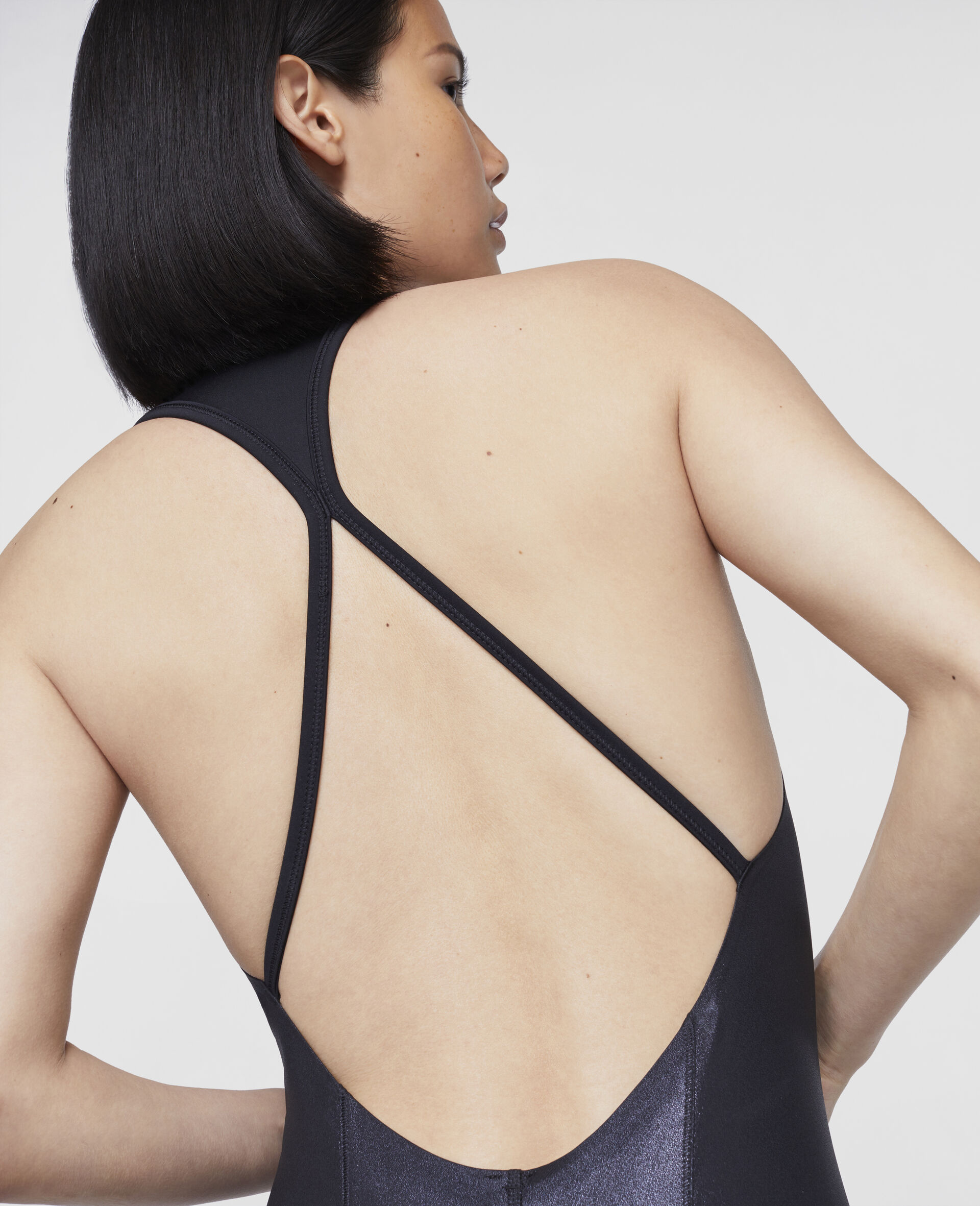 Black Training Bodysuit-Black-large image number 3