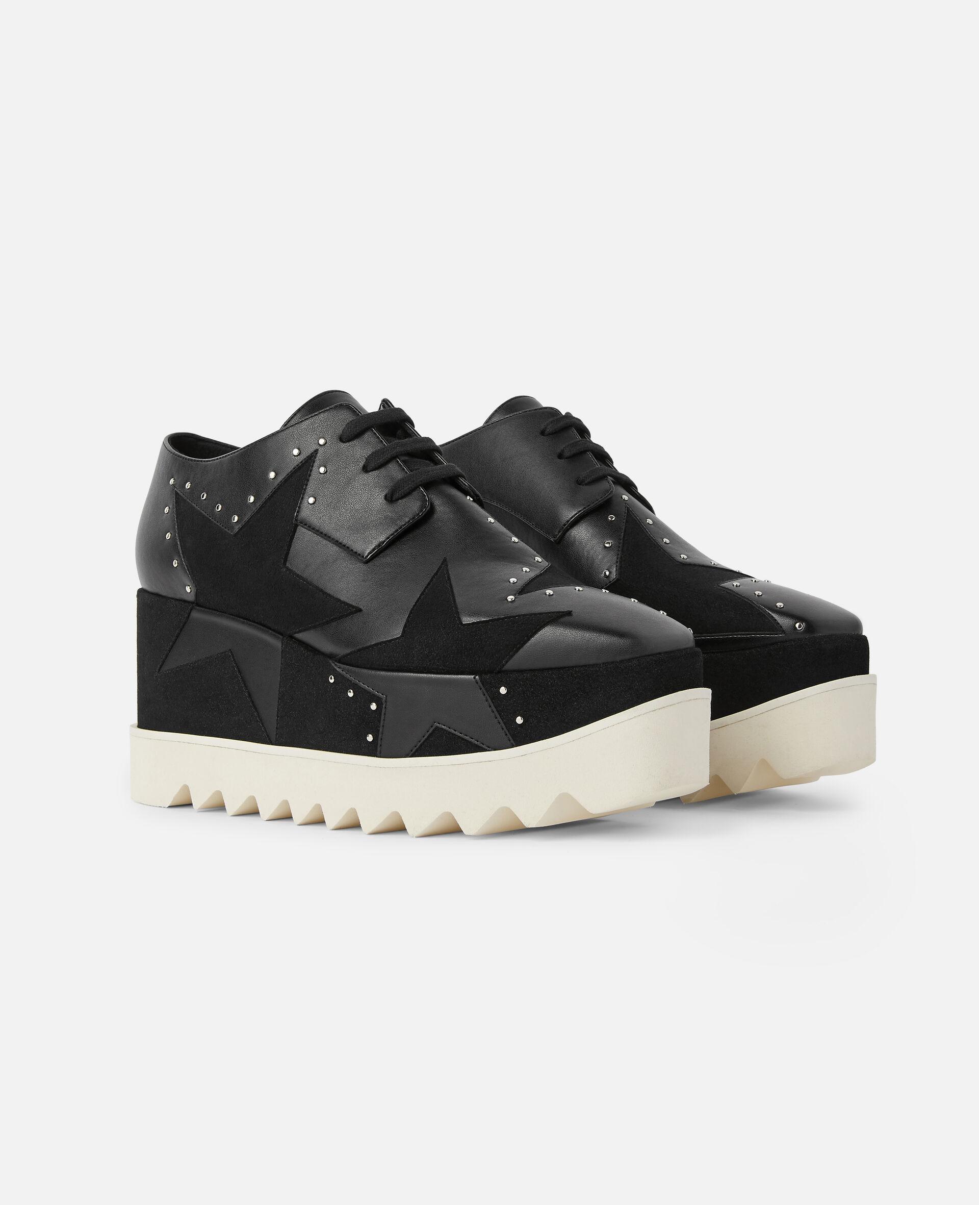 Chaussures compensées Elyse -Noir-large image number 1