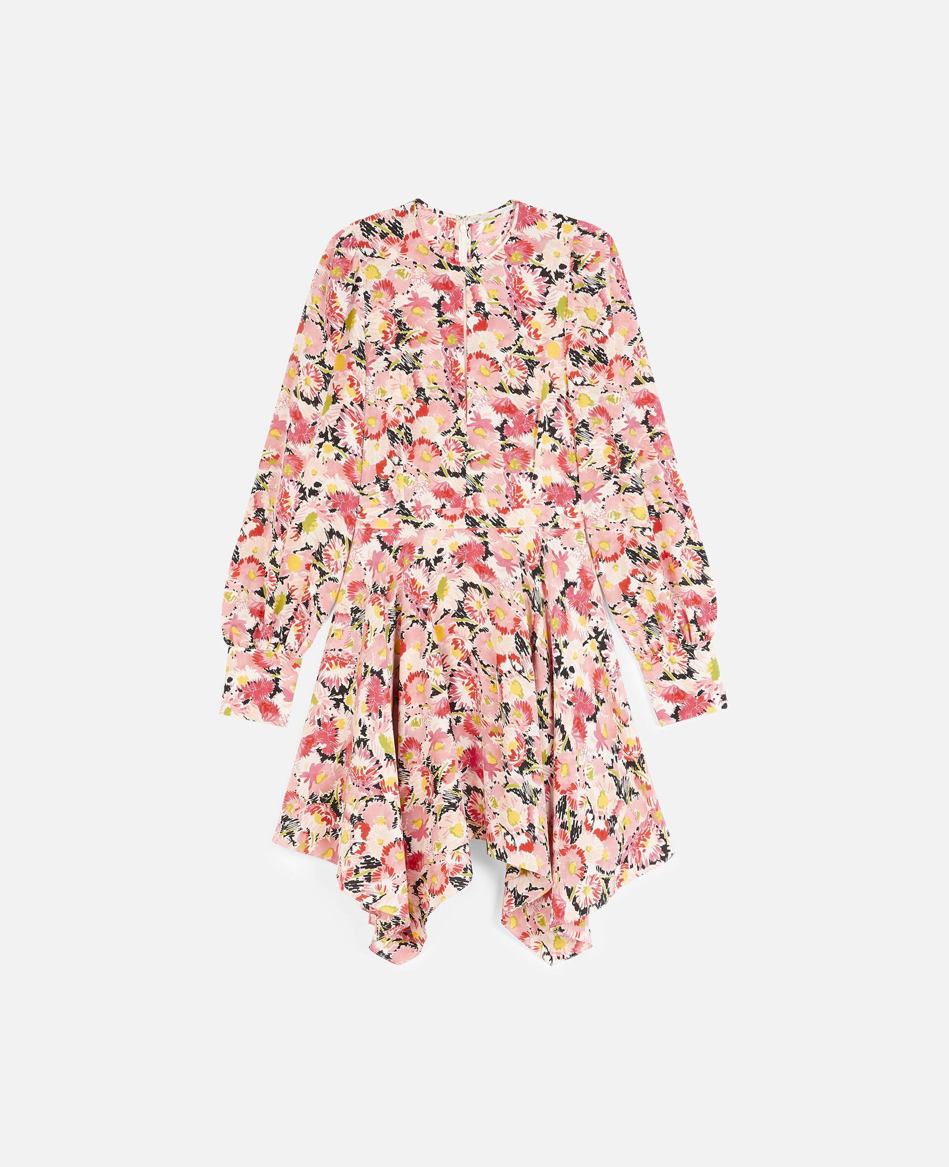 Felicity Silk Dress-Multicoloured-large image number 0