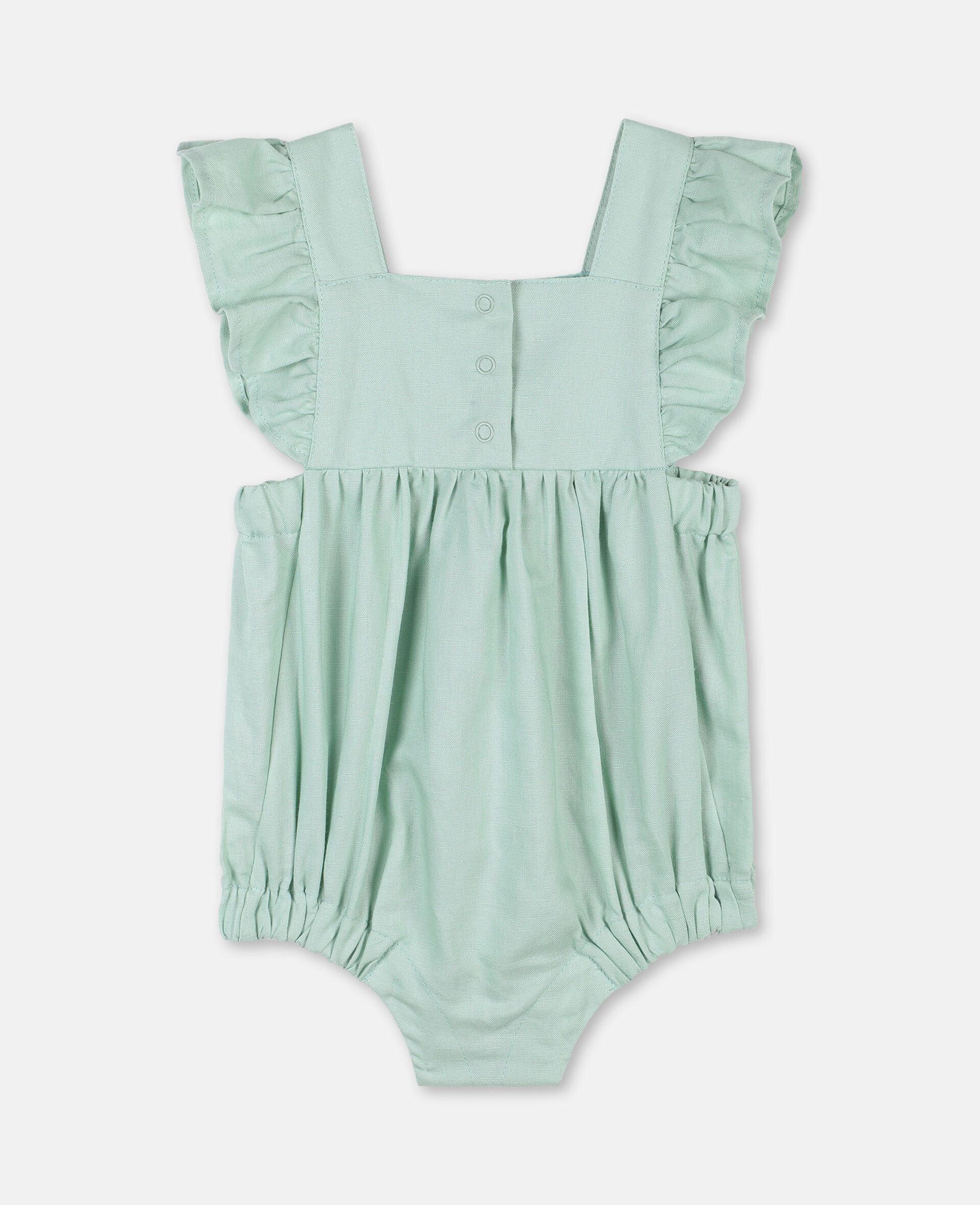 Butterfly Lace Jumpsuit-Green-large image number 3