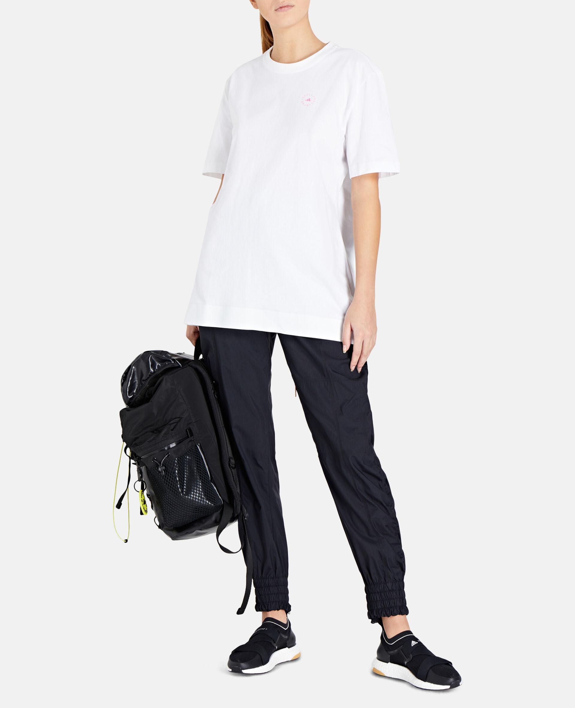 White Training T-Shirt-White-large image number 1