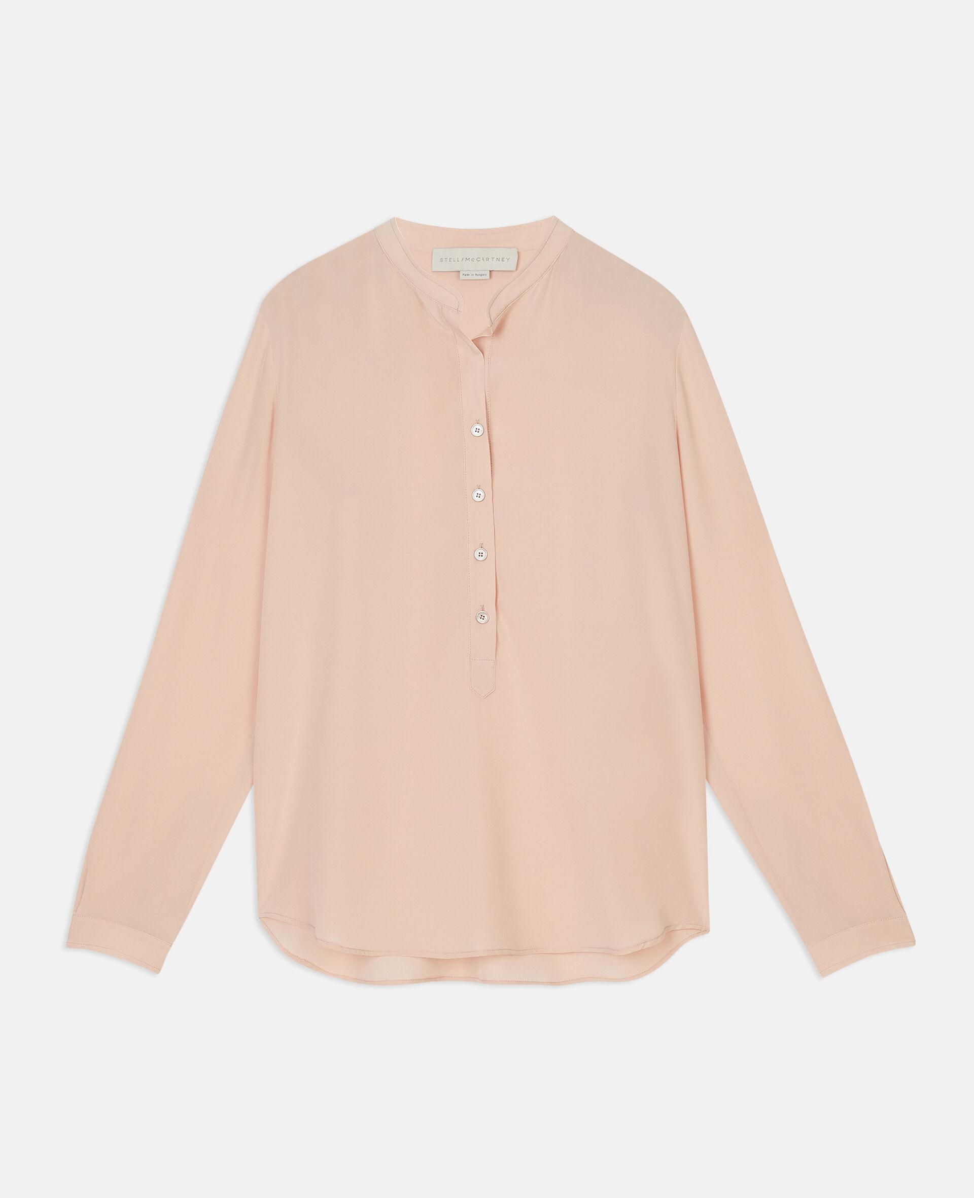 Camicia Eva in Seta-Rosa-large image number 0