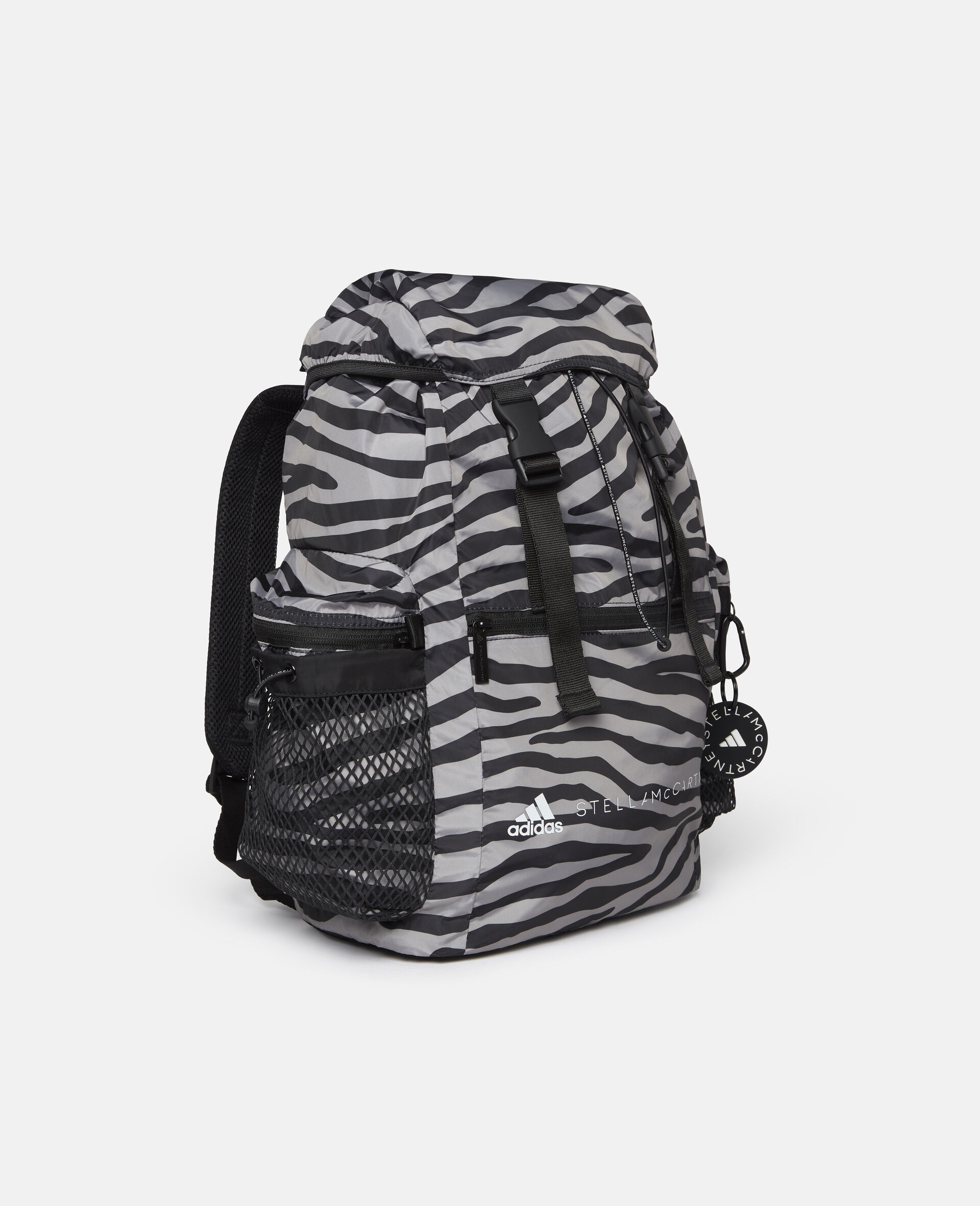Printed Backpack-Multicolour-large image number 3