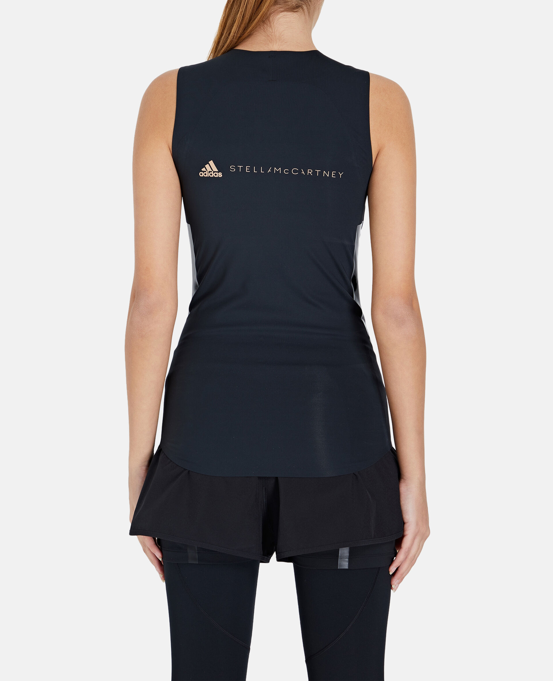 Black Training Tank Top-Black-large image number 2