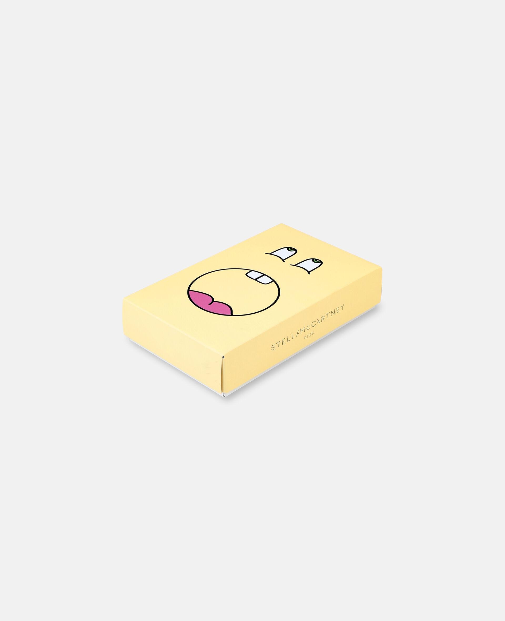 Happy Sun Jersey Rib Bodies Set-Yellow-large image number 3