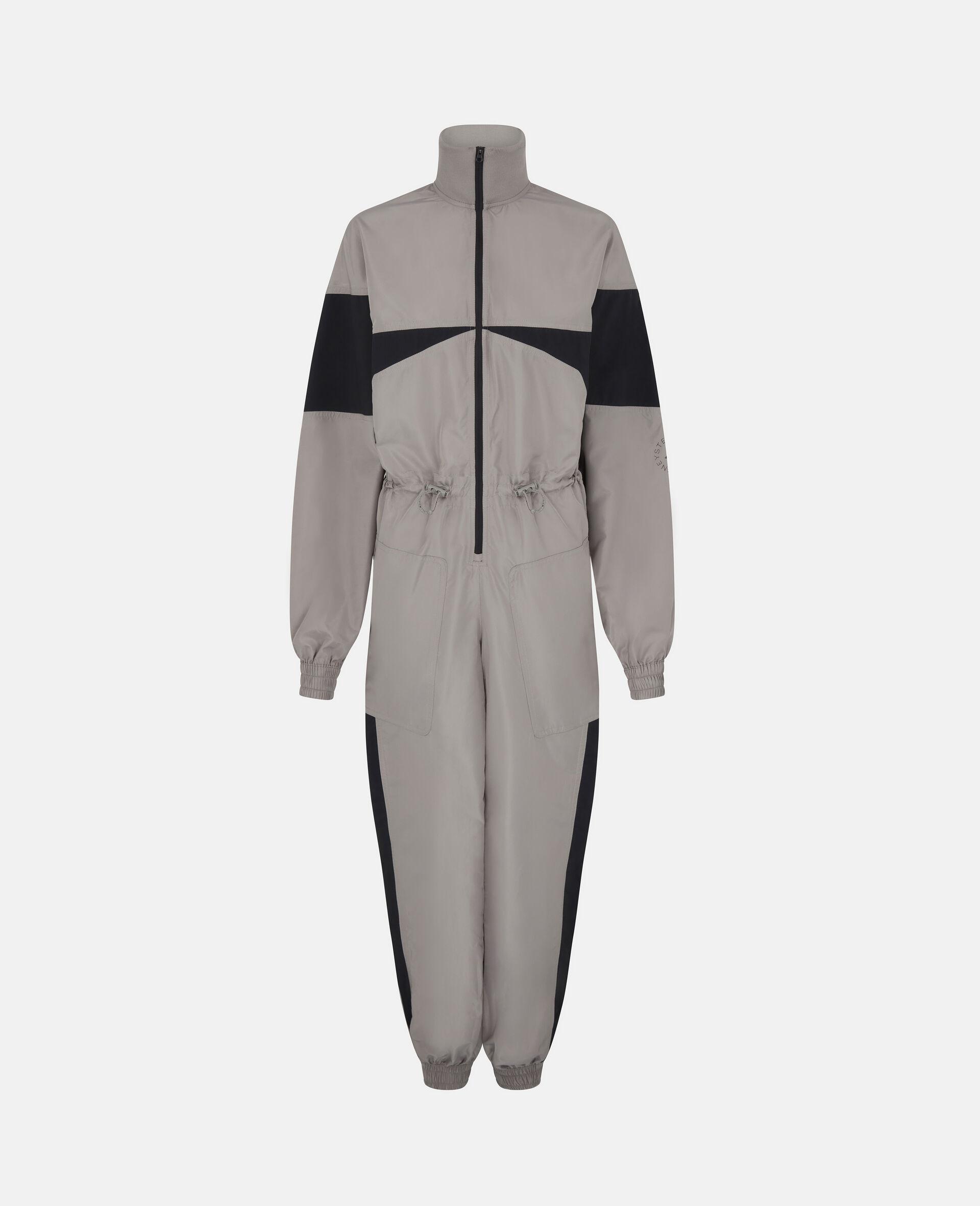 """Earth Protector"" Gewebter Jumpsuit-Grau-large image number 0"