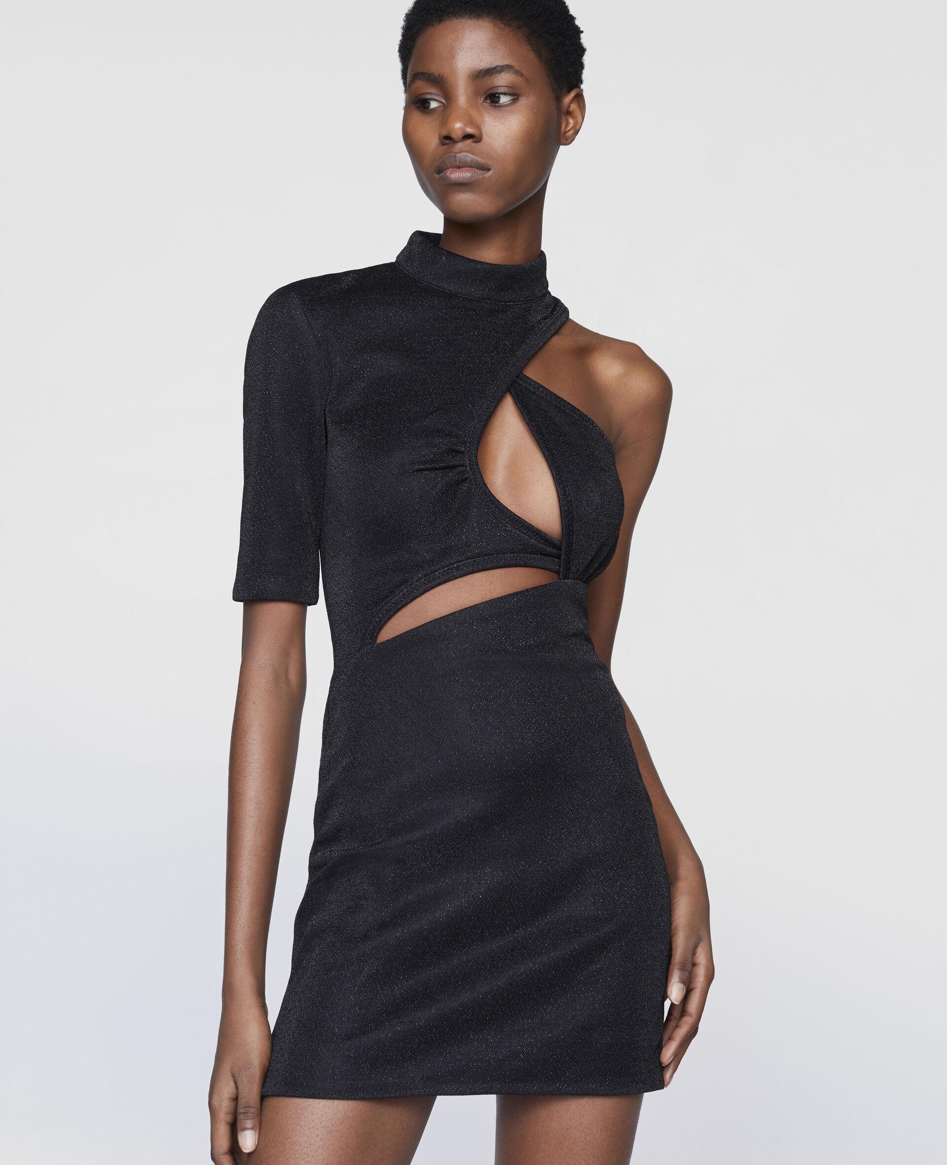 Malisa Mini Dress-Black-large image number 3