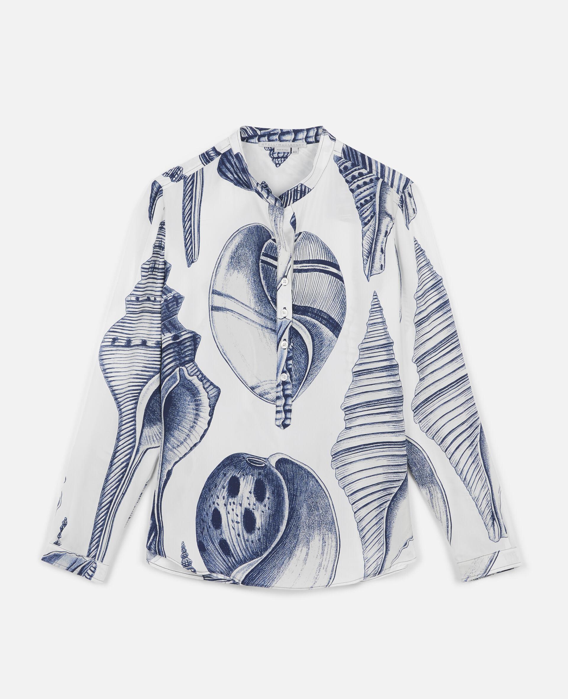 Eva Silk Shirt-White-large image number 0