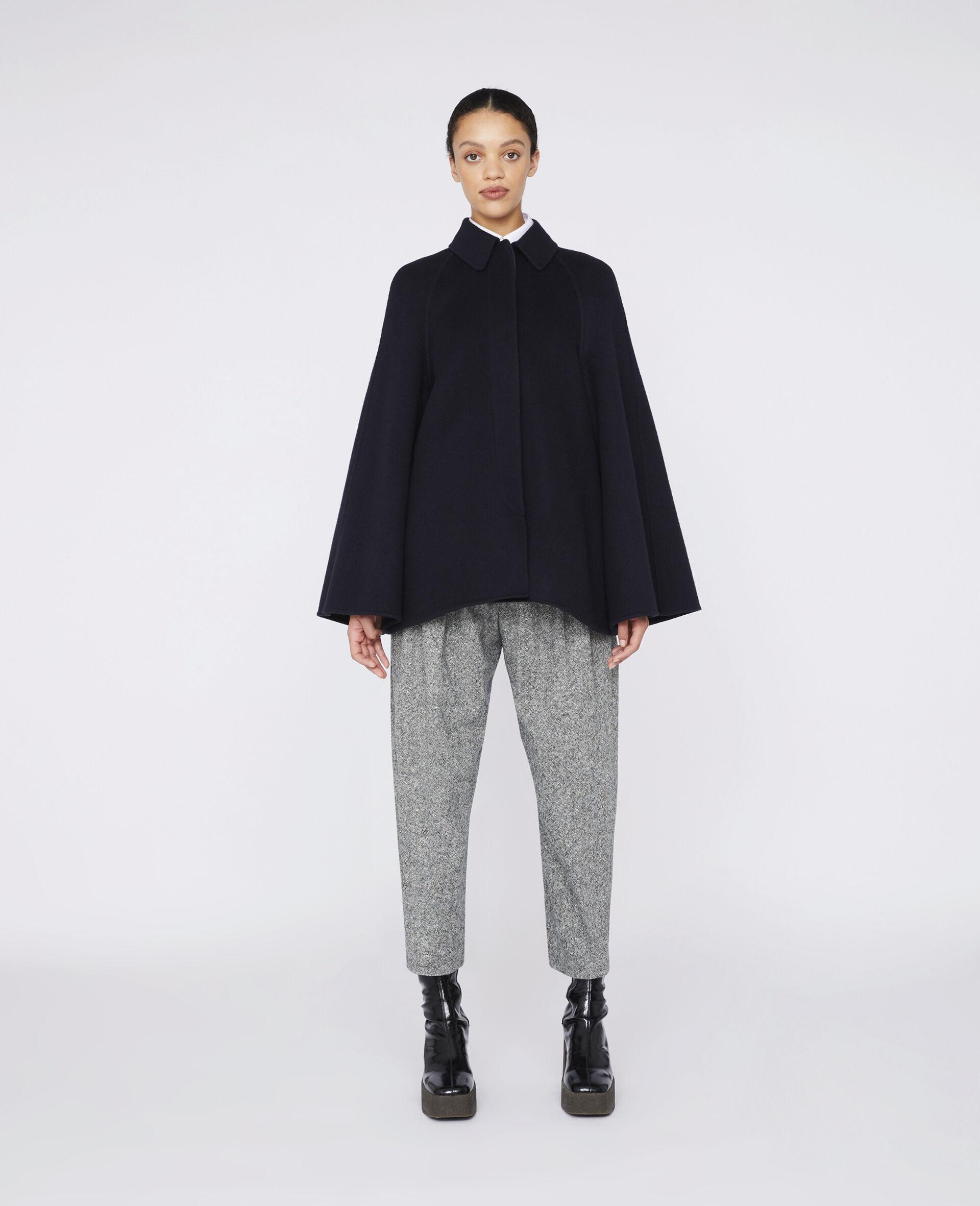 Hose aus Wolle Dawson-Grau-large image number 1
