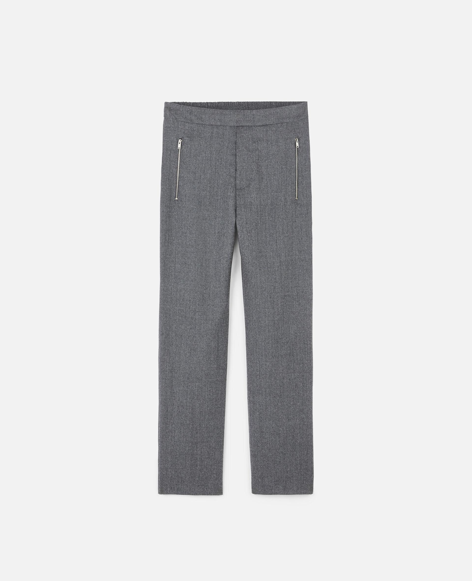 Pantalon Claire ajusté-Gris-large image number 0