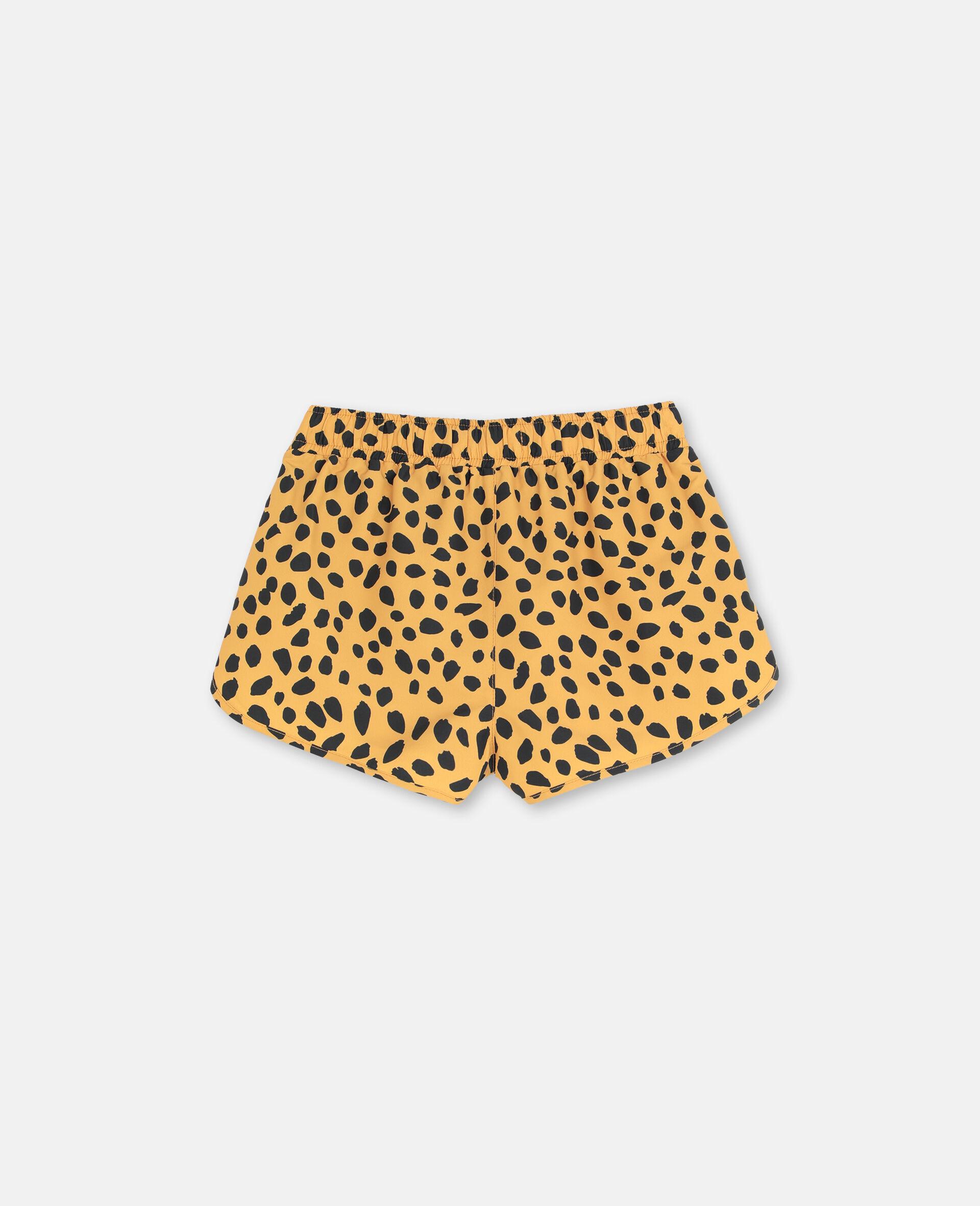 Cheetah Dots Swim Shorts-Multicolour-large image number 4