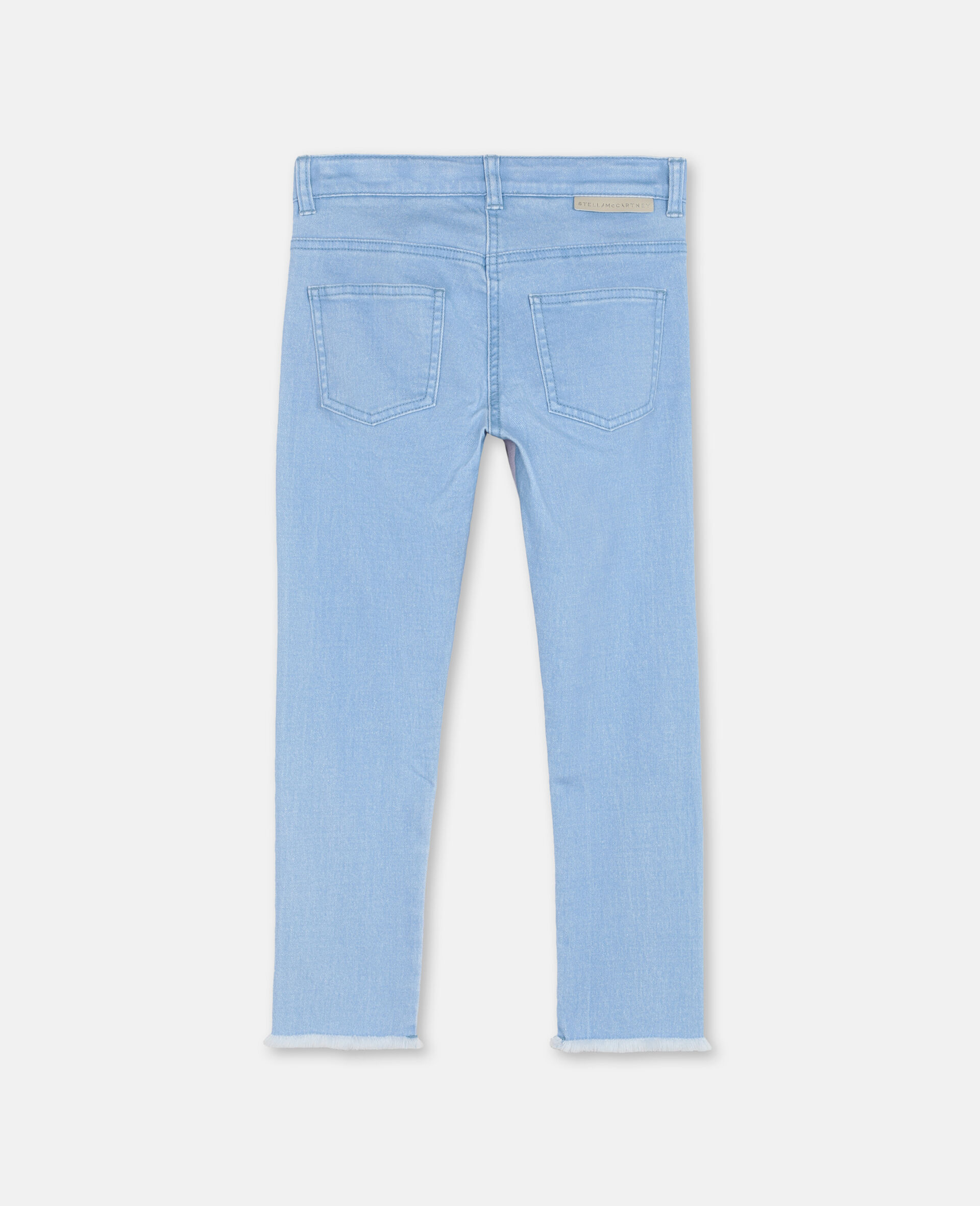 Swiggle Mom Denim Trousers-Pink-large image number 3