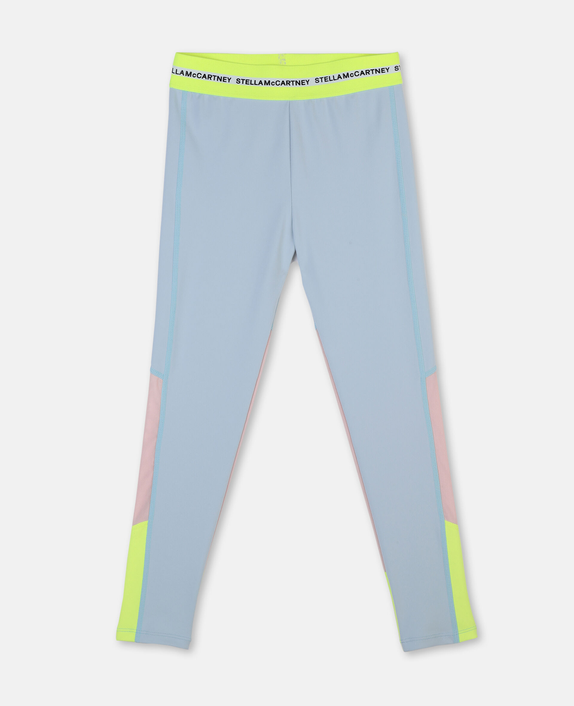 Heavy Jersey Active Leggings -Blue-large image number 0