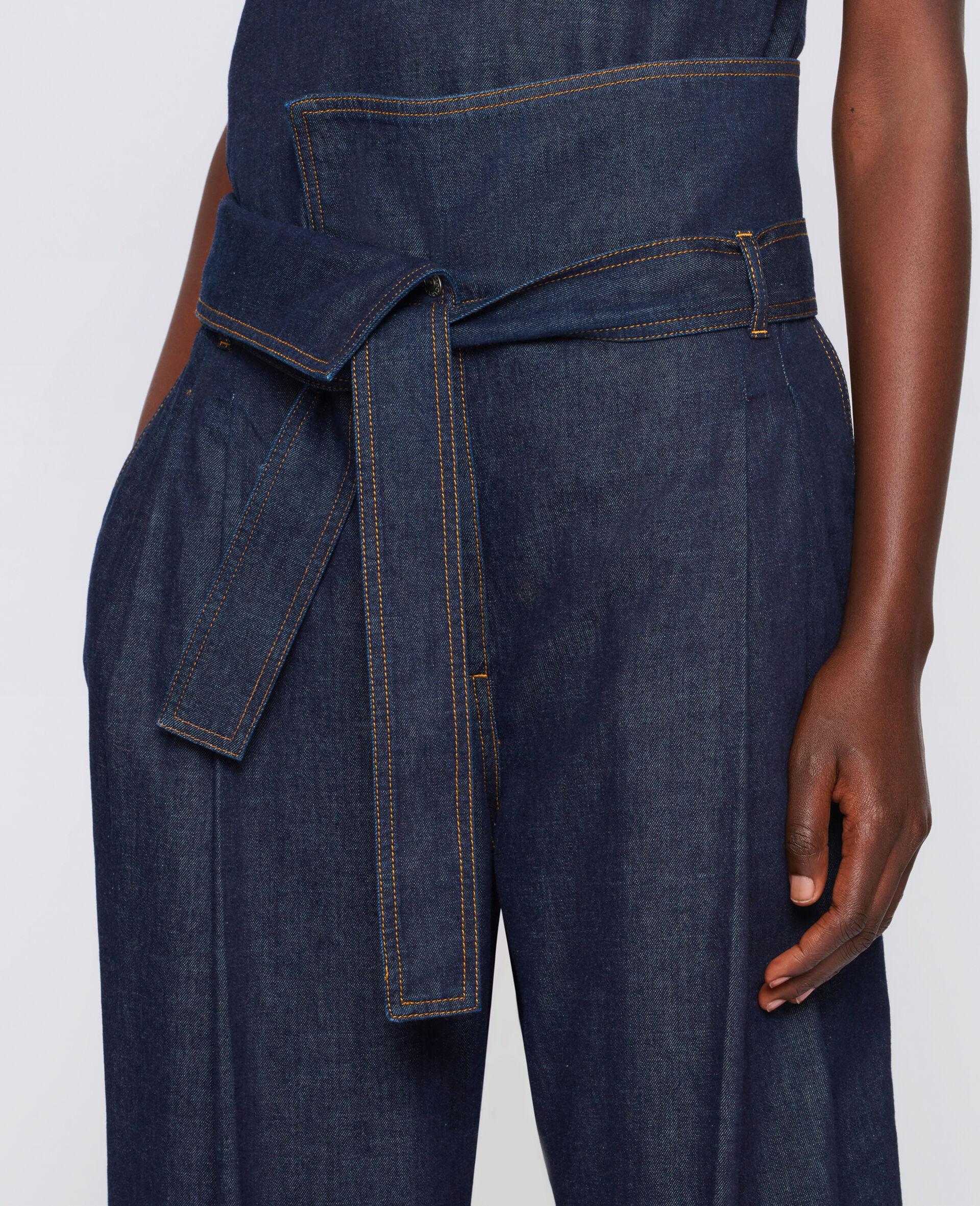 Harley Washed Denim Pants-Blue-large image number 2