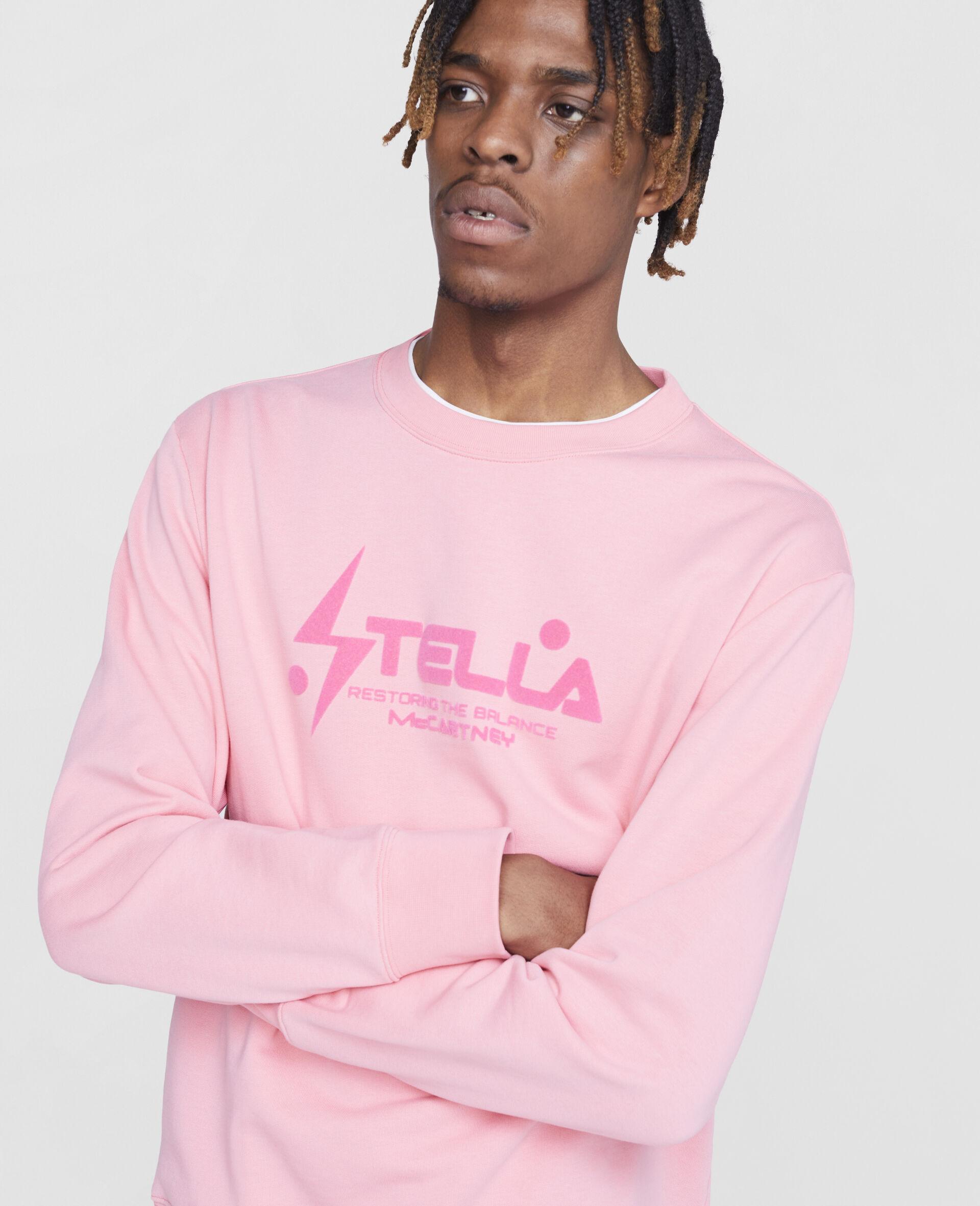 Tom Tosseyn Stella Logo Sweatshirt-Pink-large image number 4