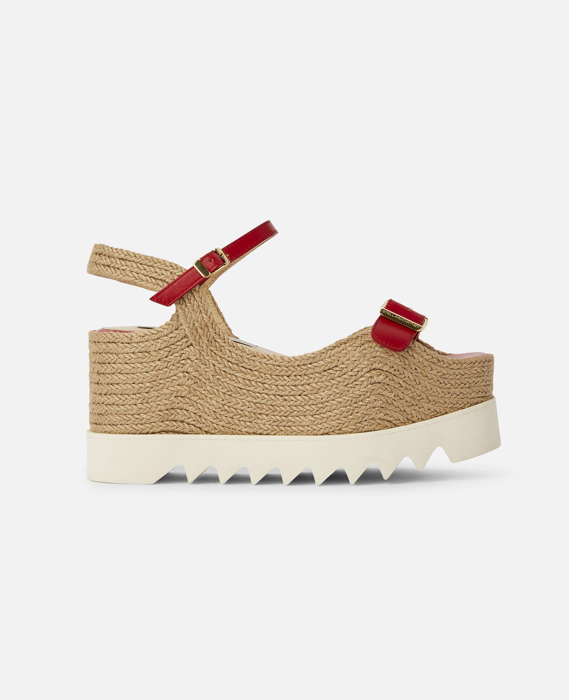Elyse Platform Sandals -Red-large image number 0