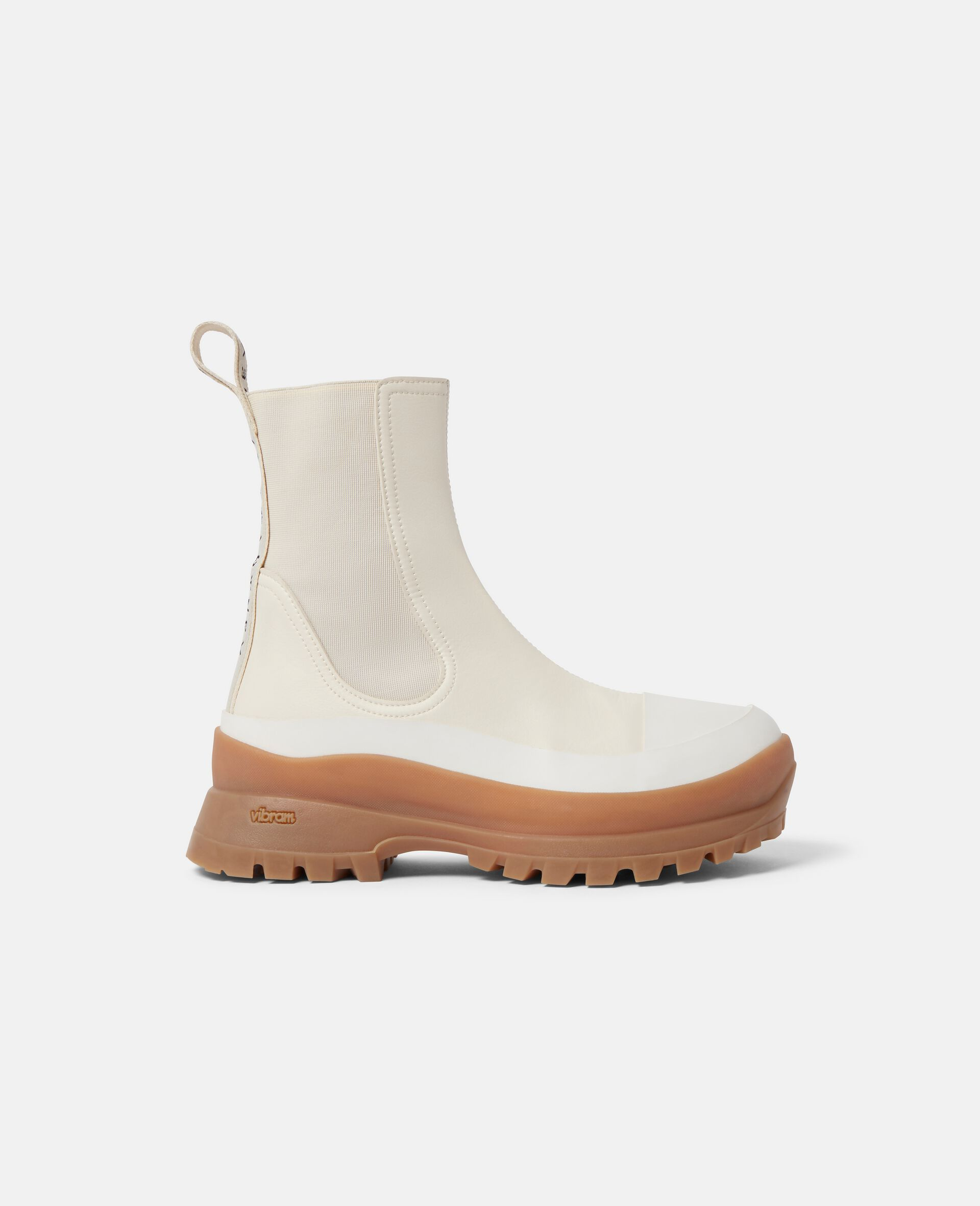 Trace Chelsea Boots-White-large image number 0