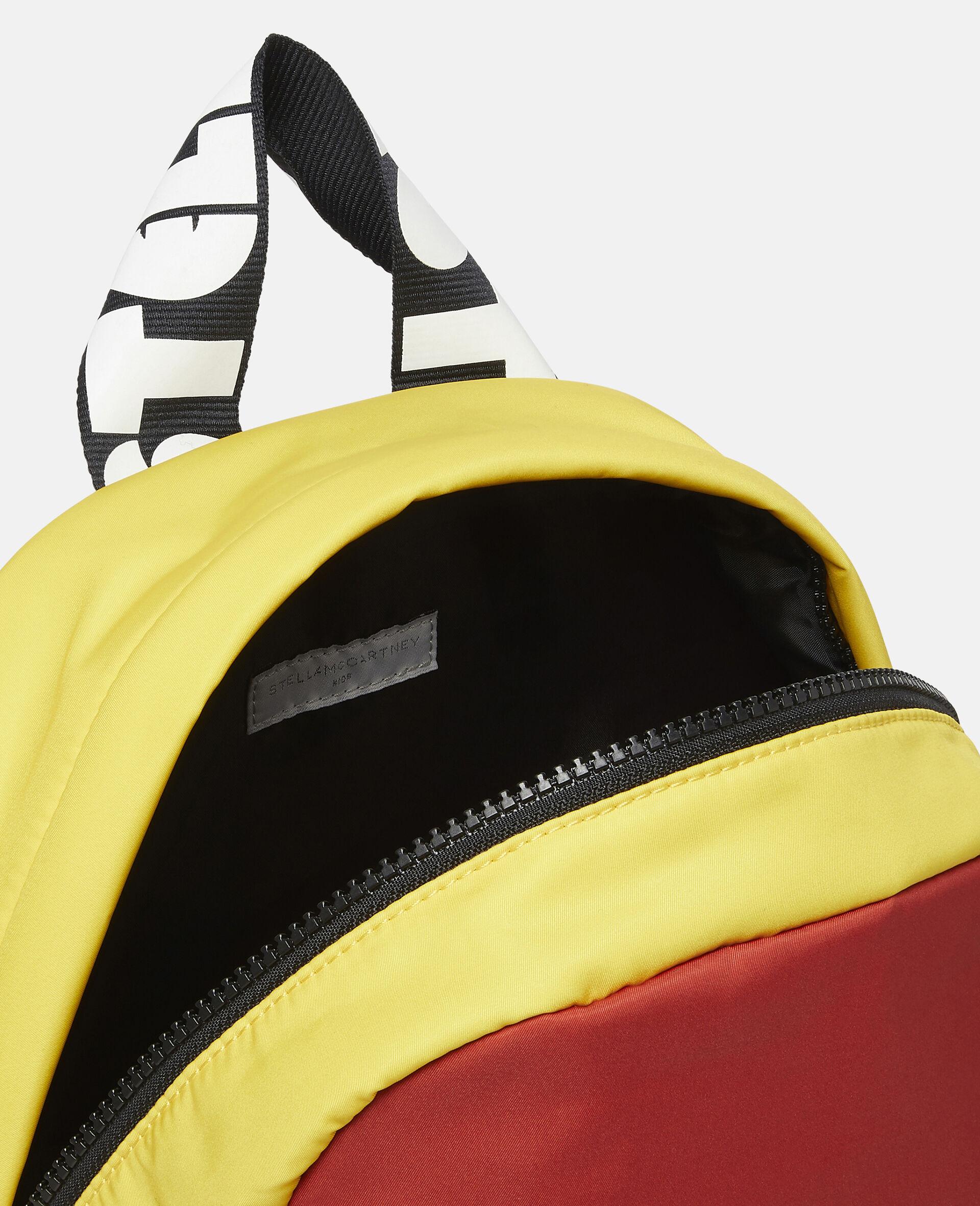 Colourblock Logo Backpack-Multicolour-large image number 2