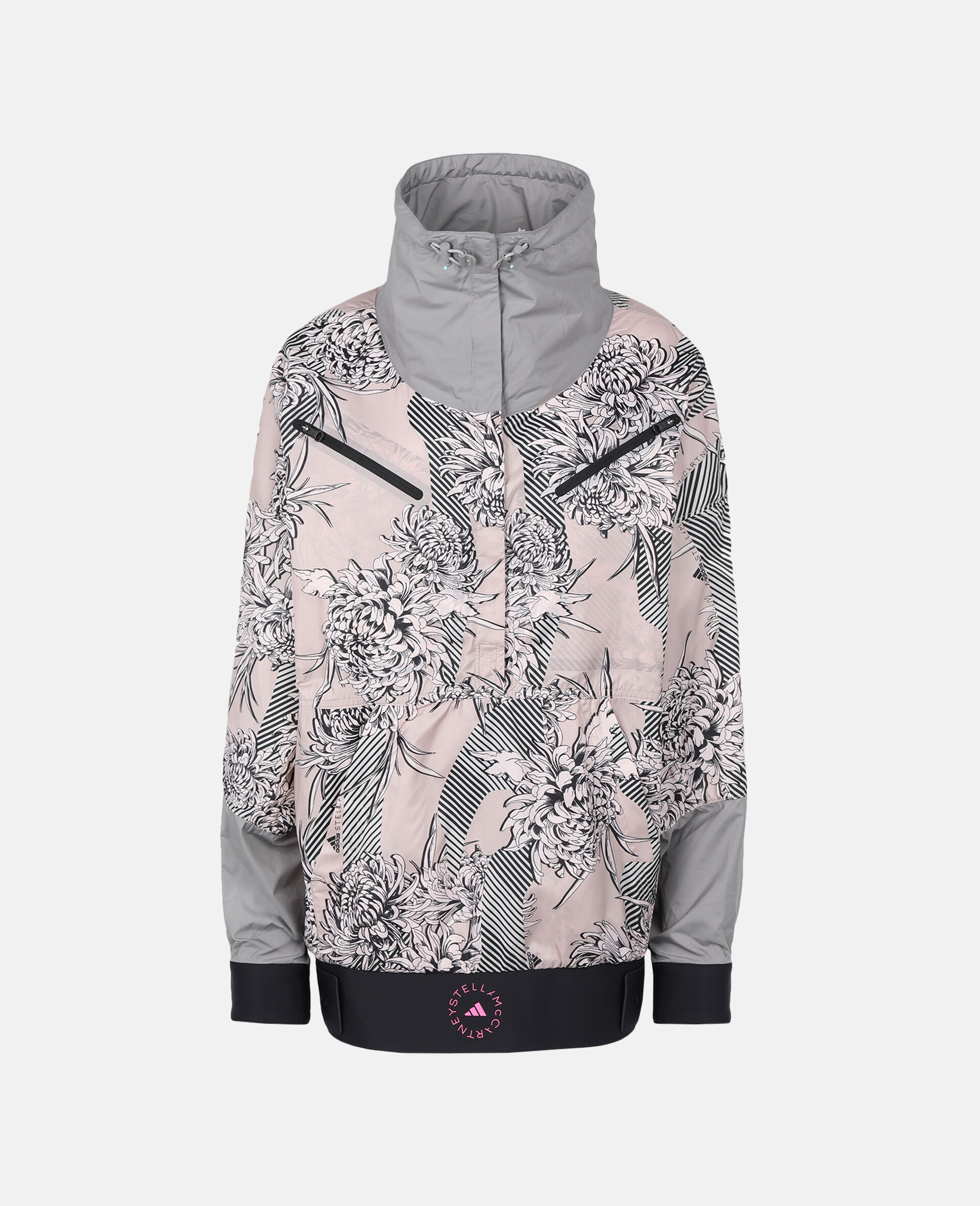 Future Playground Half-Zip Jacket -Pink-large image number 0
