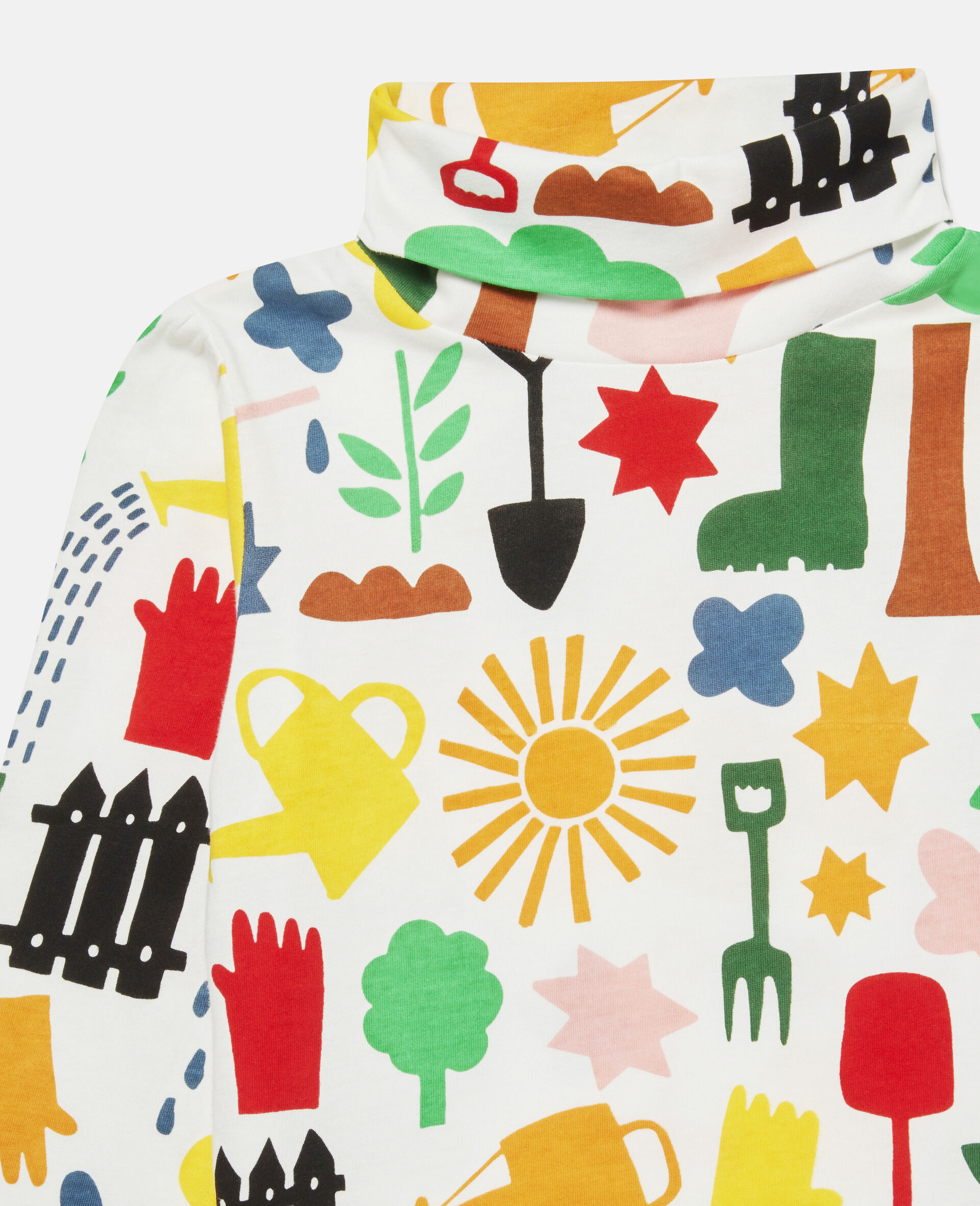 Garden Cotton Top -White-large image number 2