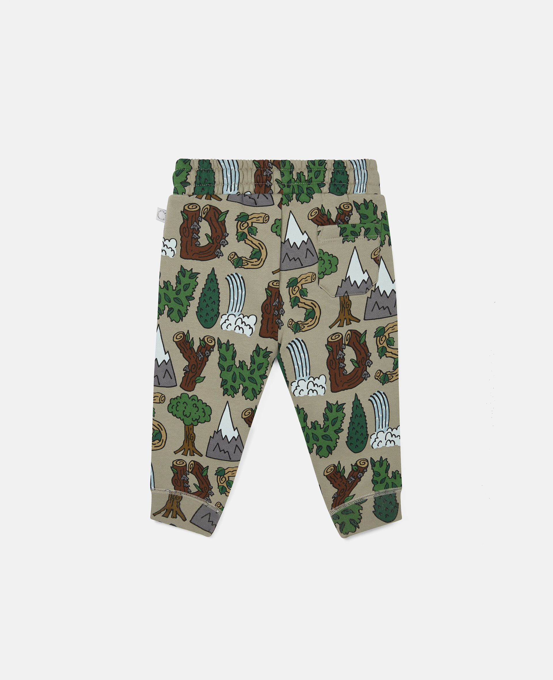 Pantalon de jogging en polaire «Stay Wild»-Vert-large image number 3