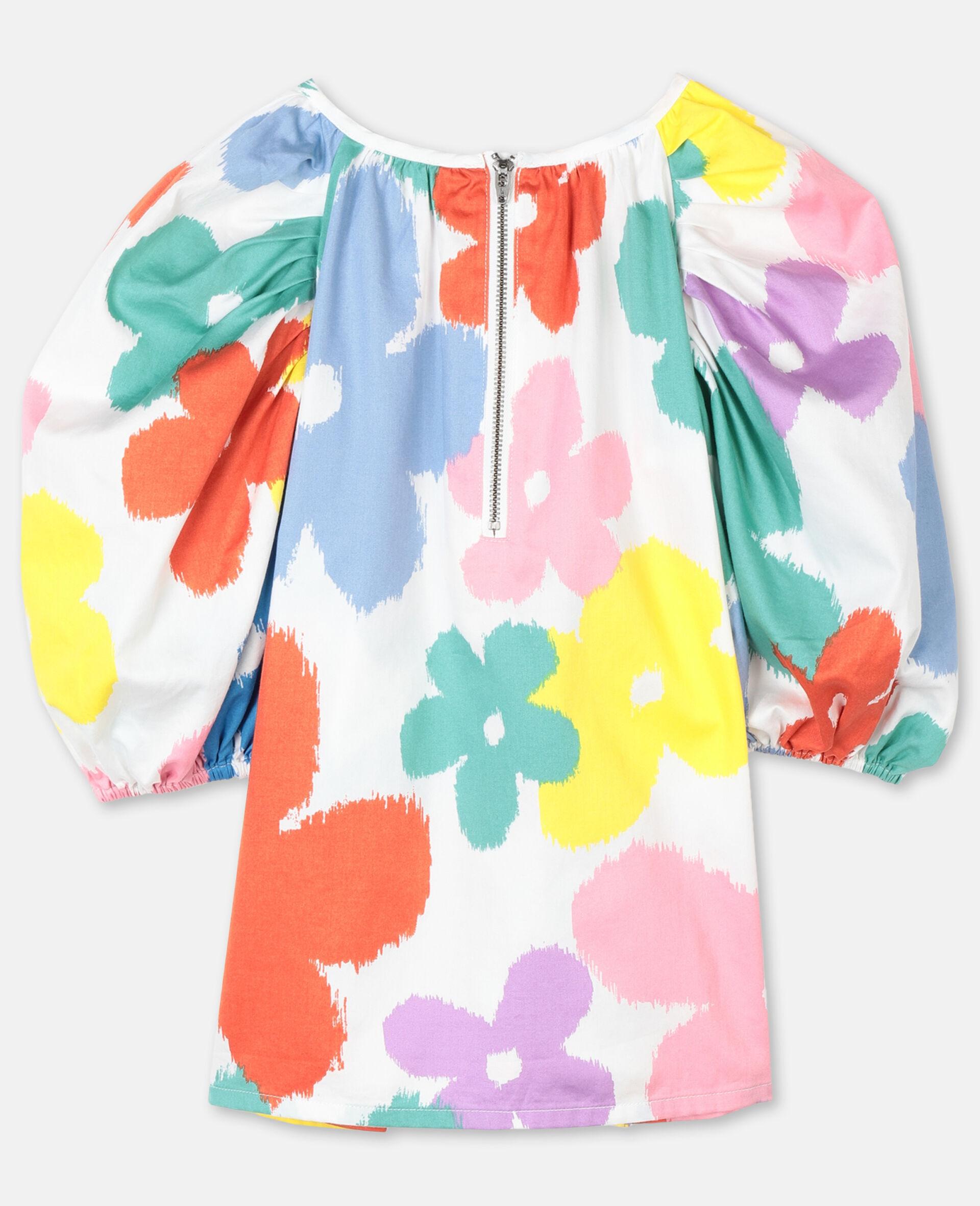 Flowers Cotton Top-Multicolour-large image number 3