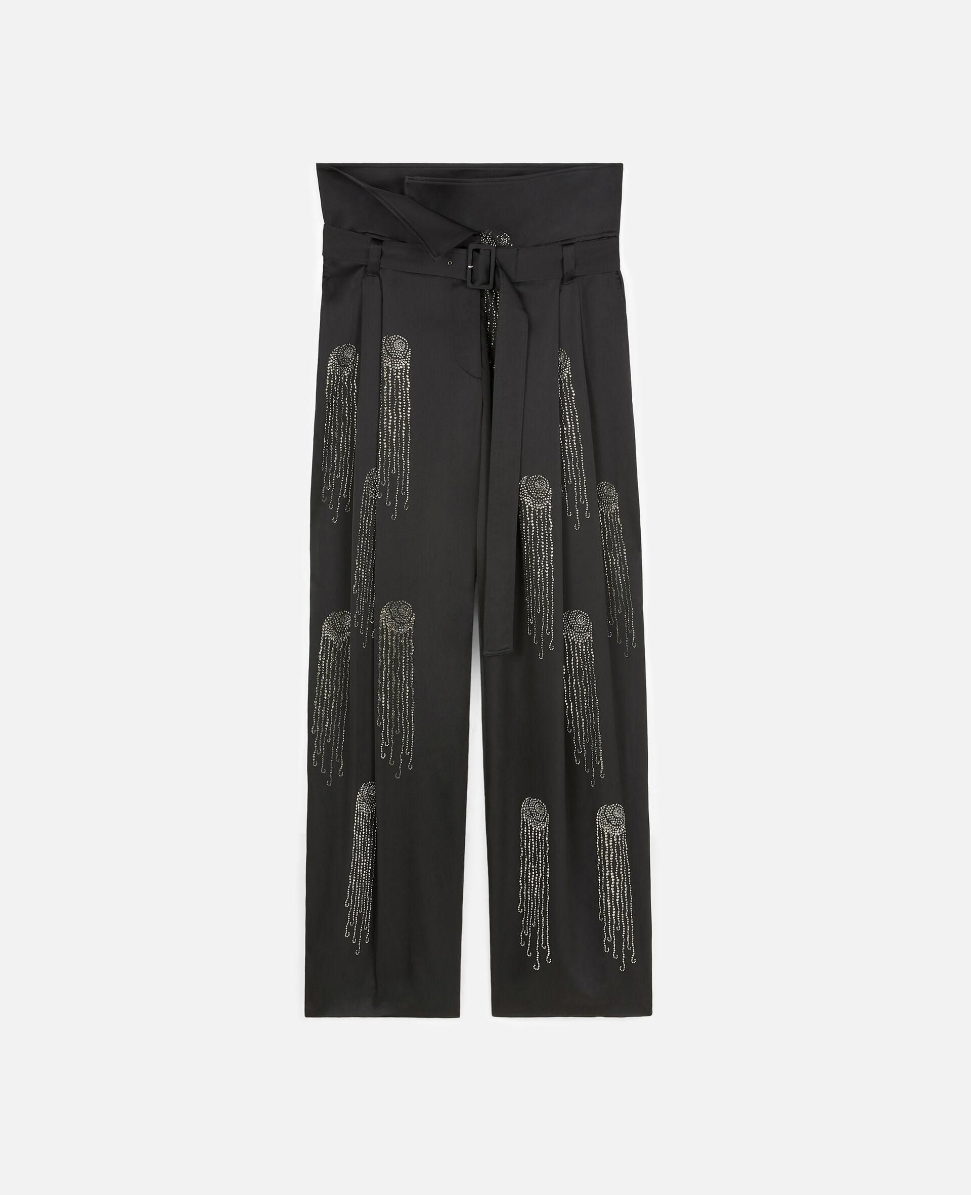 Londyn Hotfix Pants-Black-large image number 0