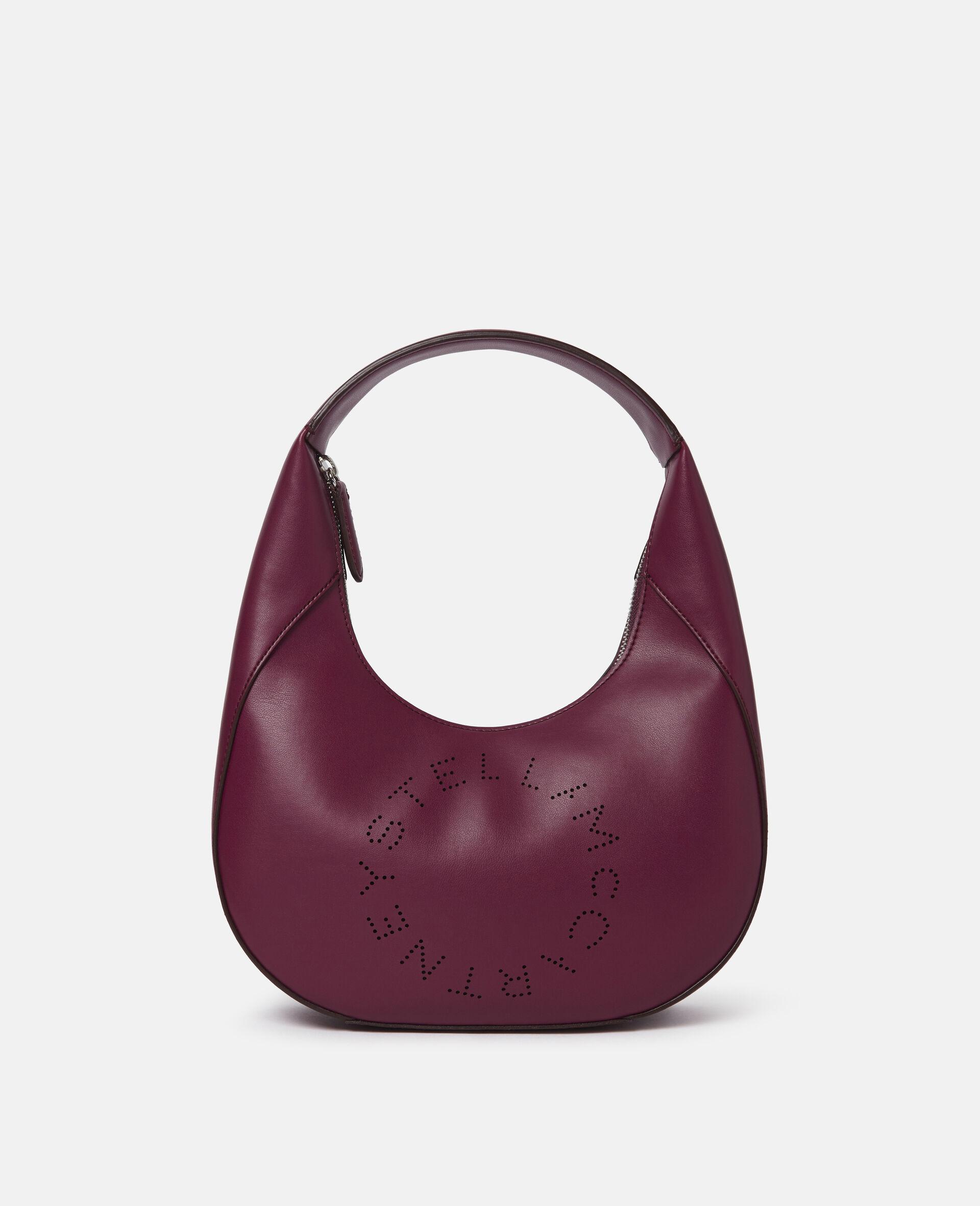 Small Stella Logo Shoulder Bag-Black-large image number 0