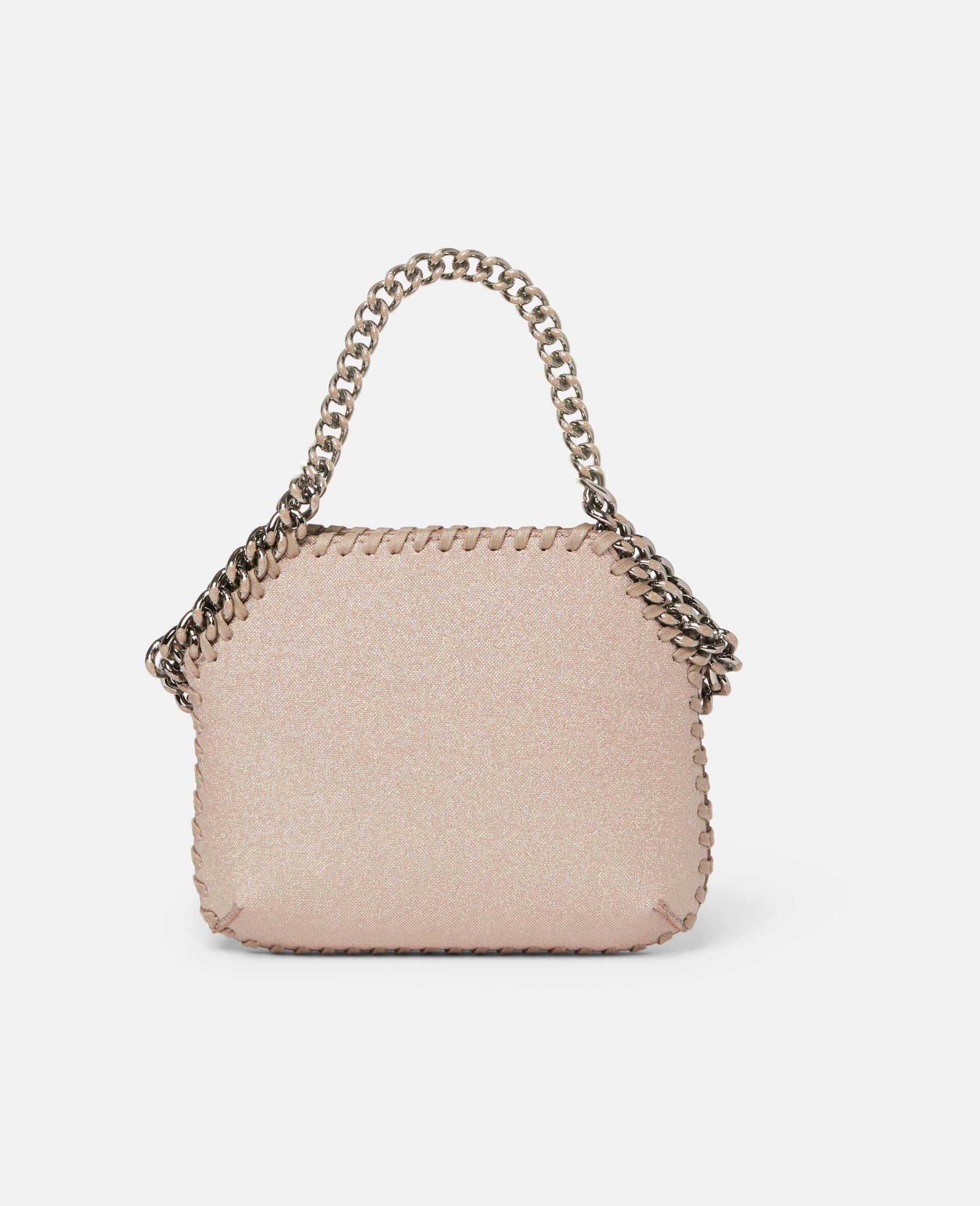 Mini sac porté épaule Falabella Glitter -Rose-large image number 2
