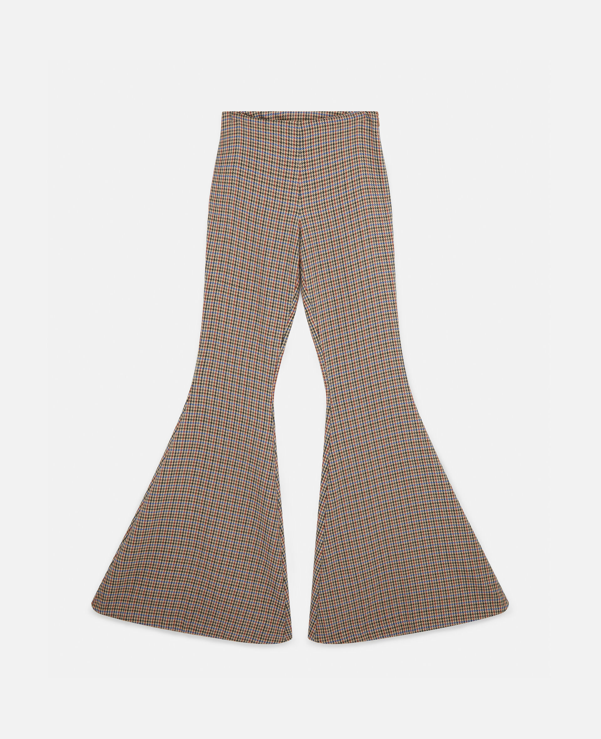 Mona Flared Trousers-Beige-large image number 0