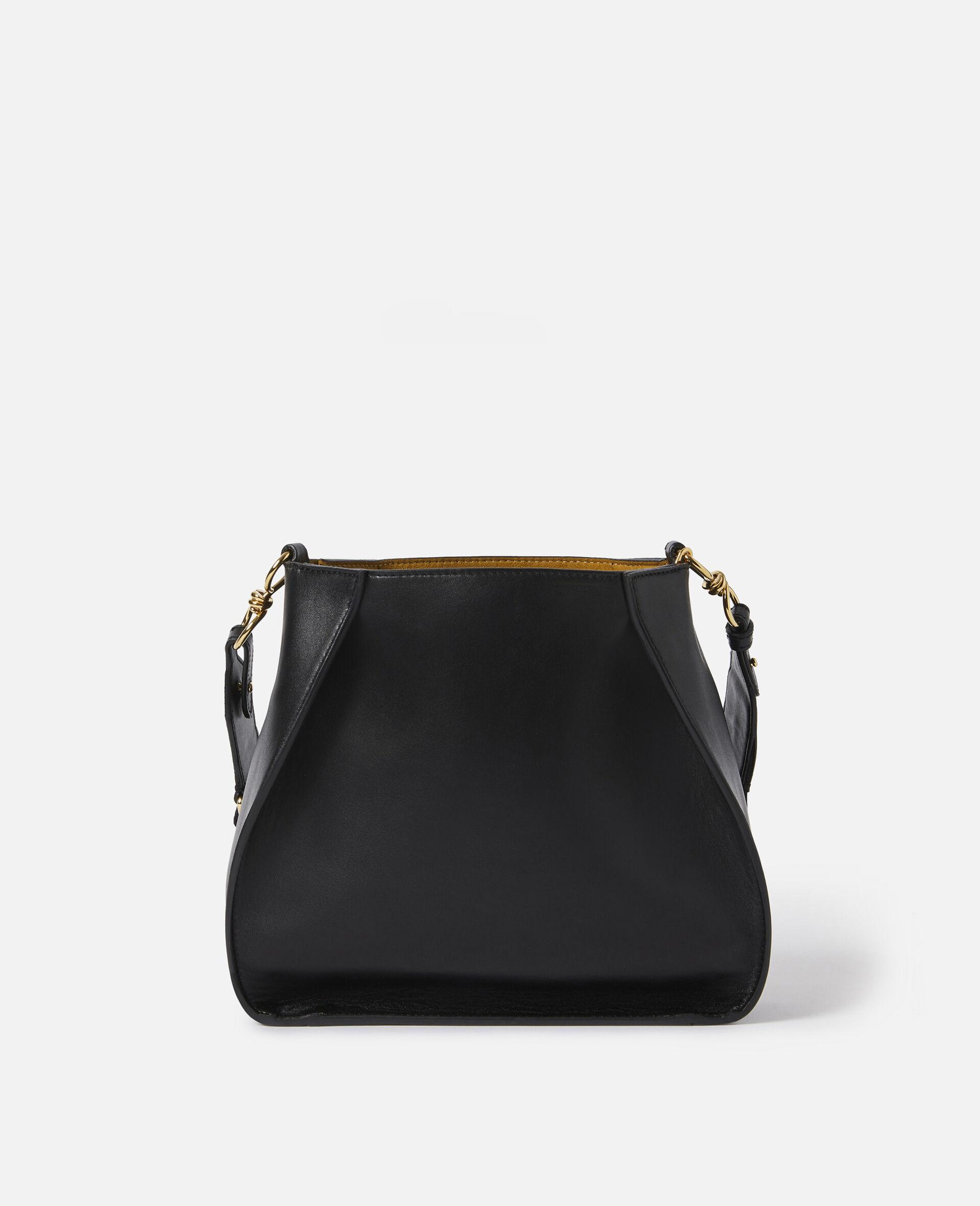 Micro Stella Logo Shoulder Bag-Black-large image number 2