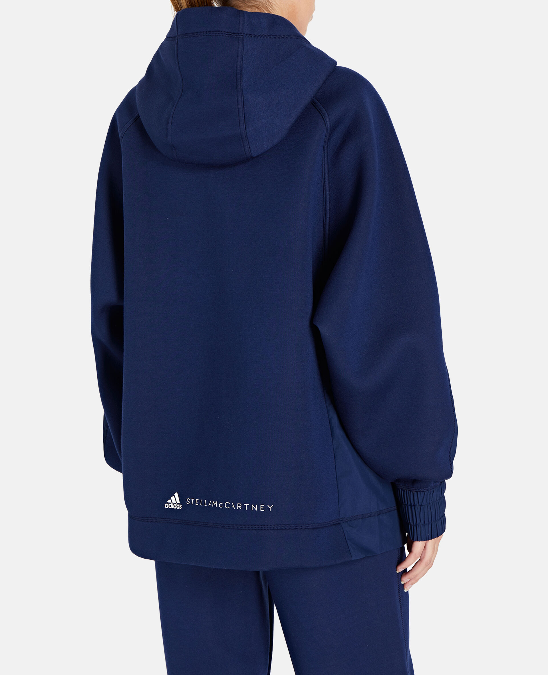 Blue Half-zip Hoodie-Blue-large image number 2