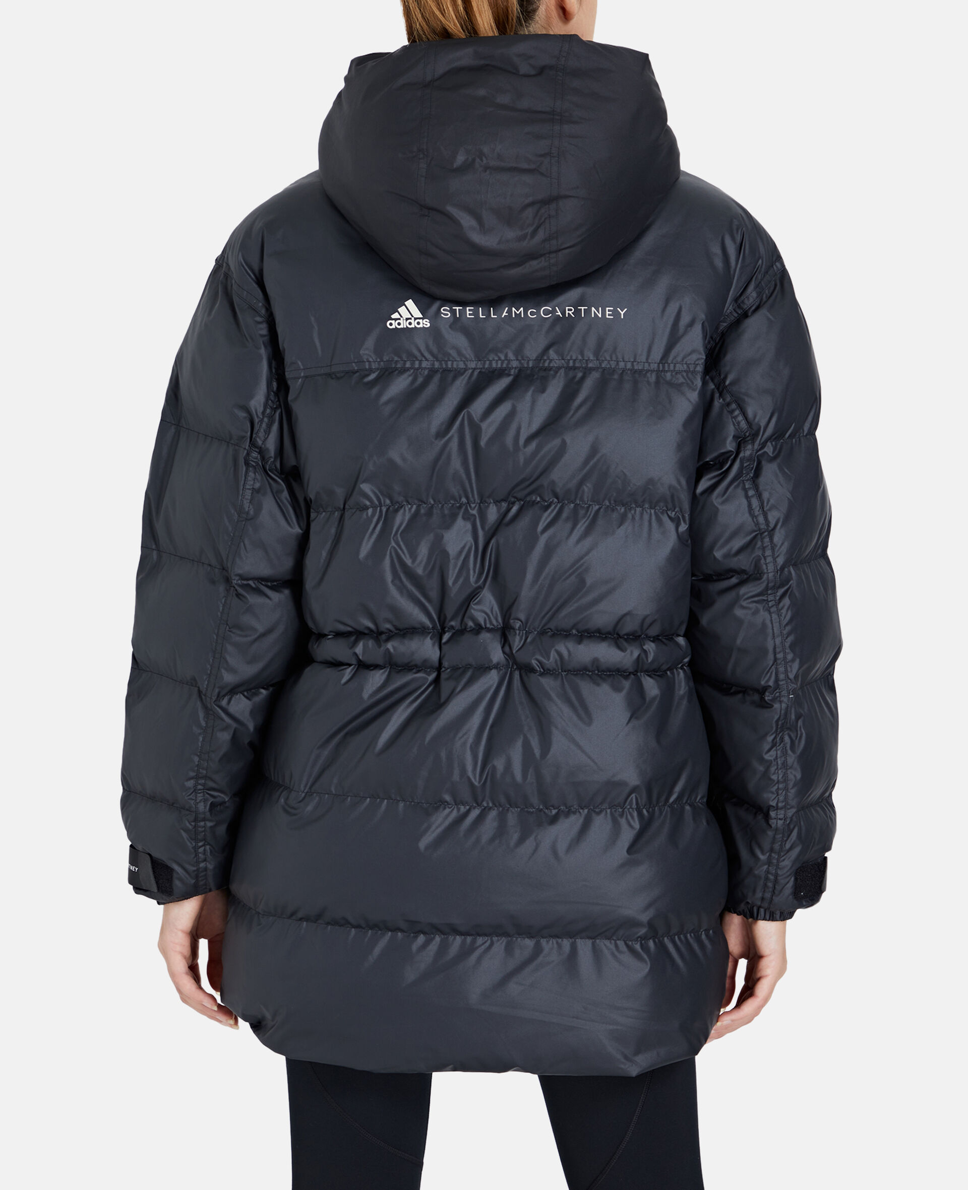 2-in-1 Mid-Length Padded Jacket-Black-large image number 2