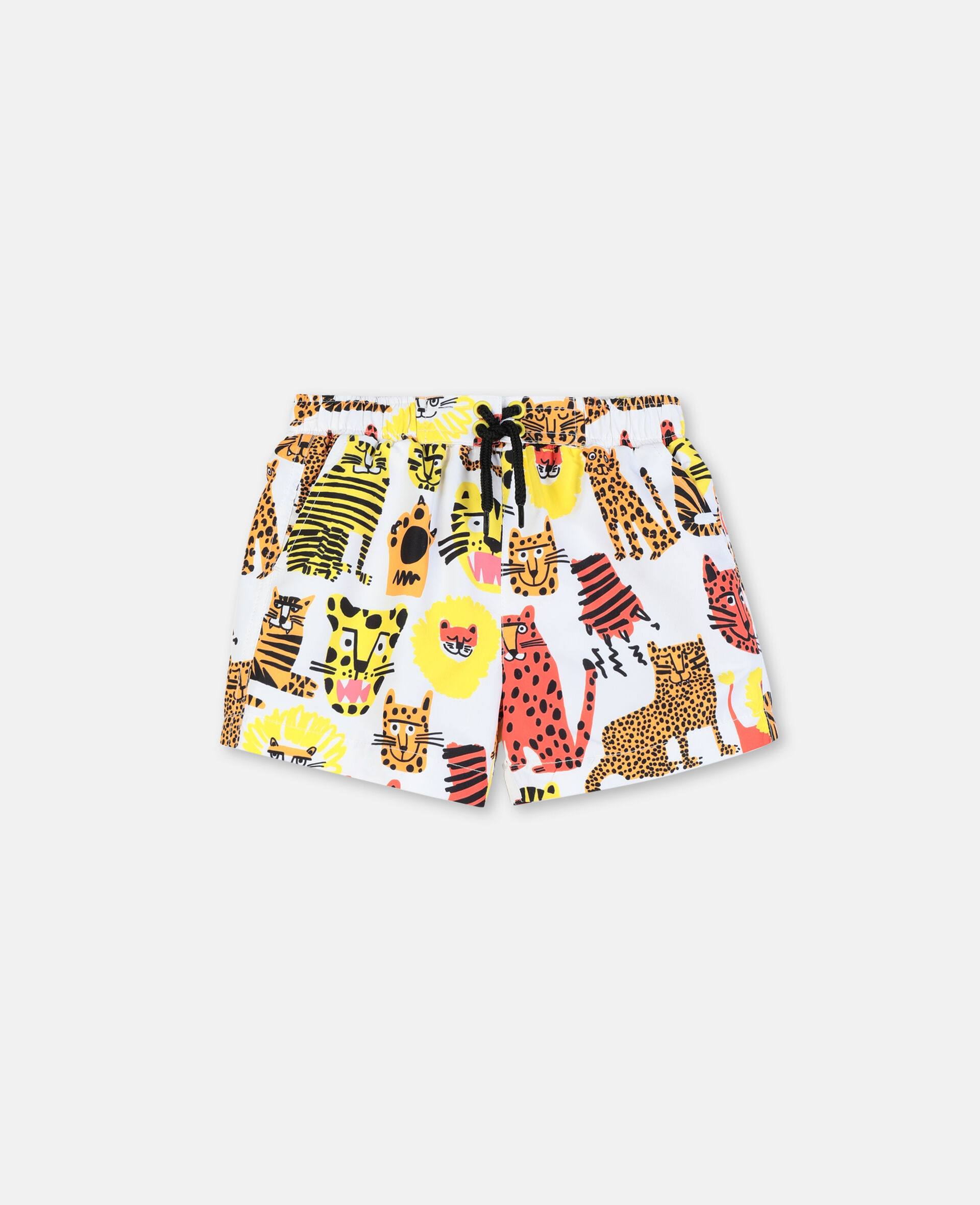 Wild Cats Swim Shorts-Yellow-large image number 0