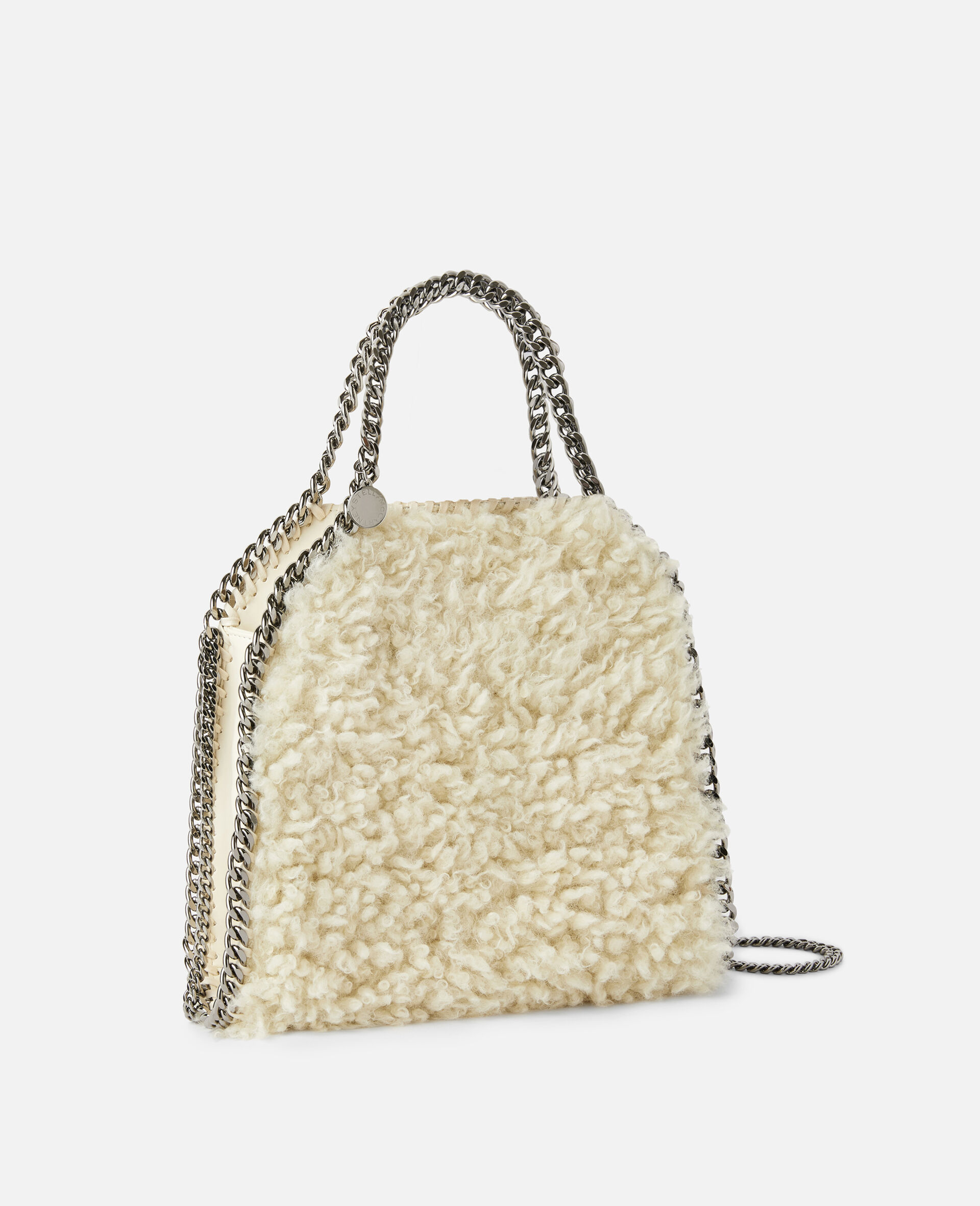 Falabella FFF Mini Tote-White-large image number 1