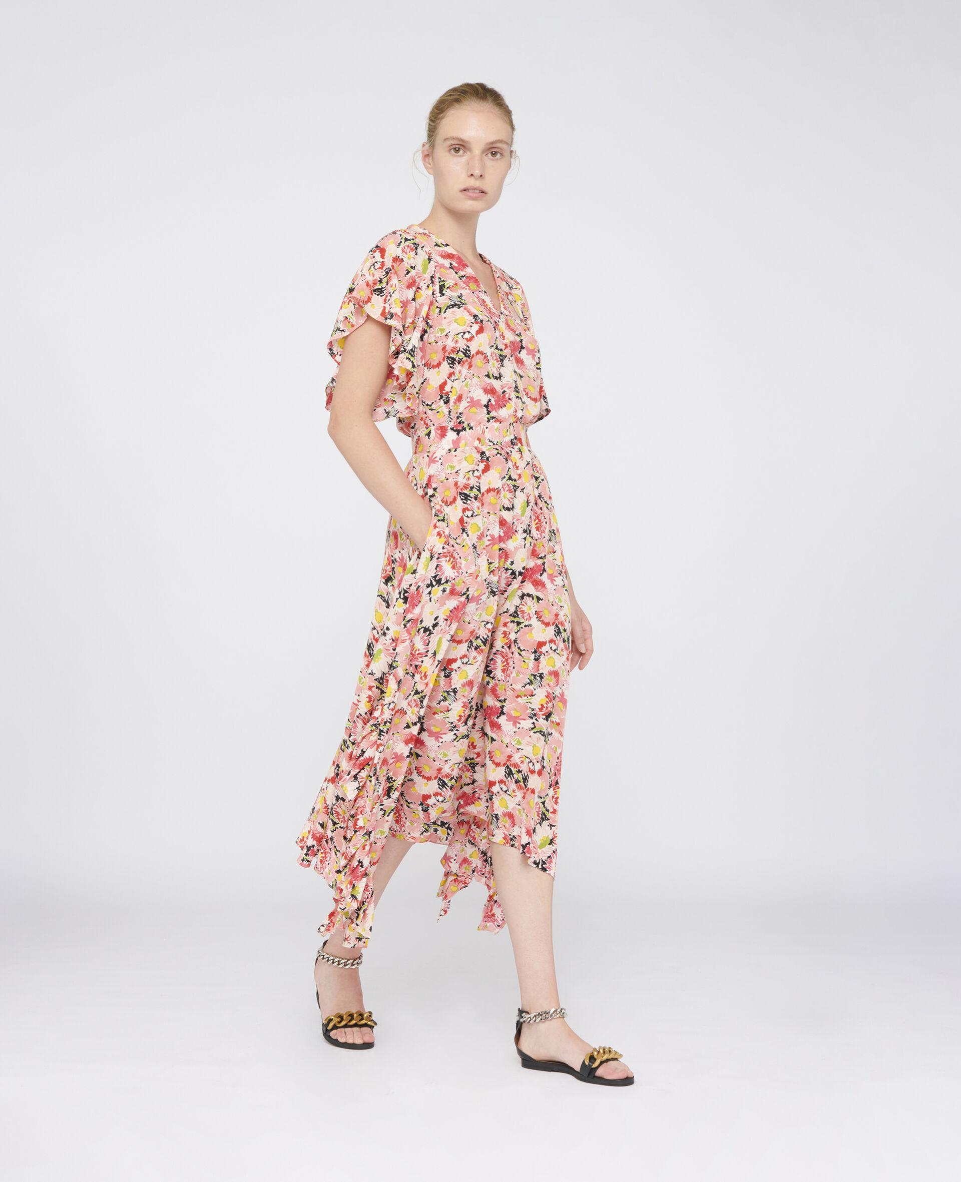 Ashlyn Silk Skirt-Multicoloured-large image number 1