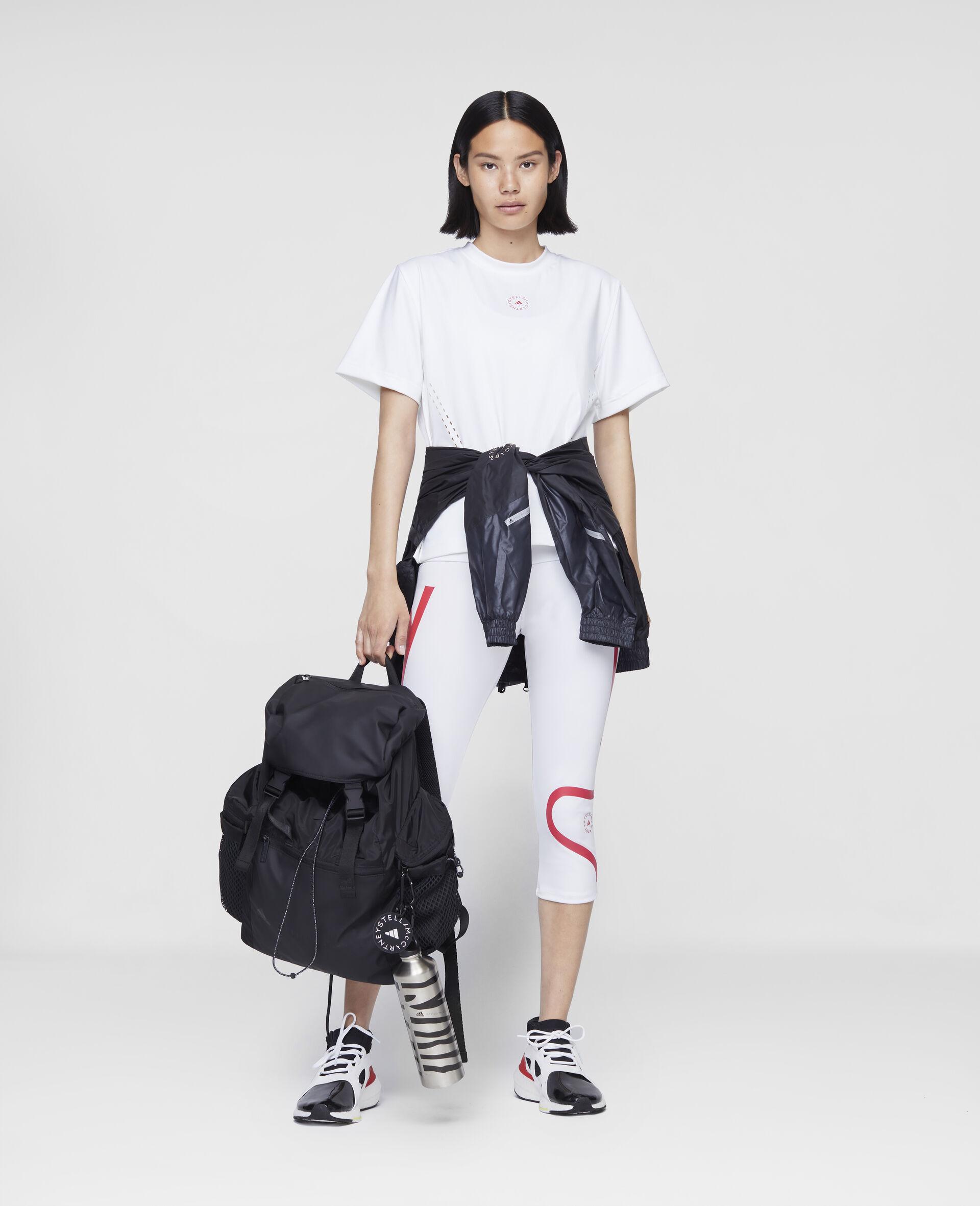 T-shirt d'entraînement blanc-Blanc-large image number 1